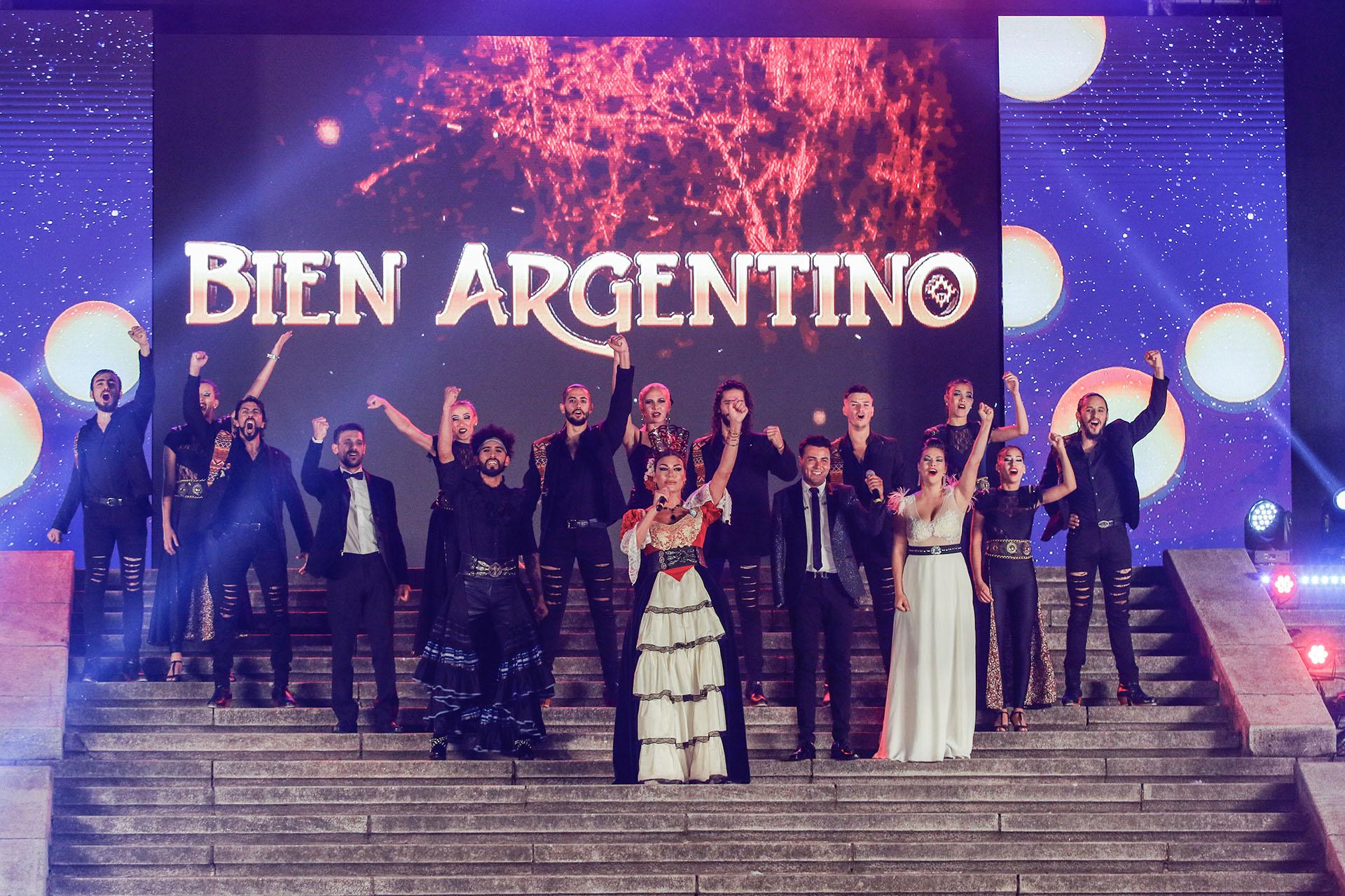 El elenco de Bien Argentino