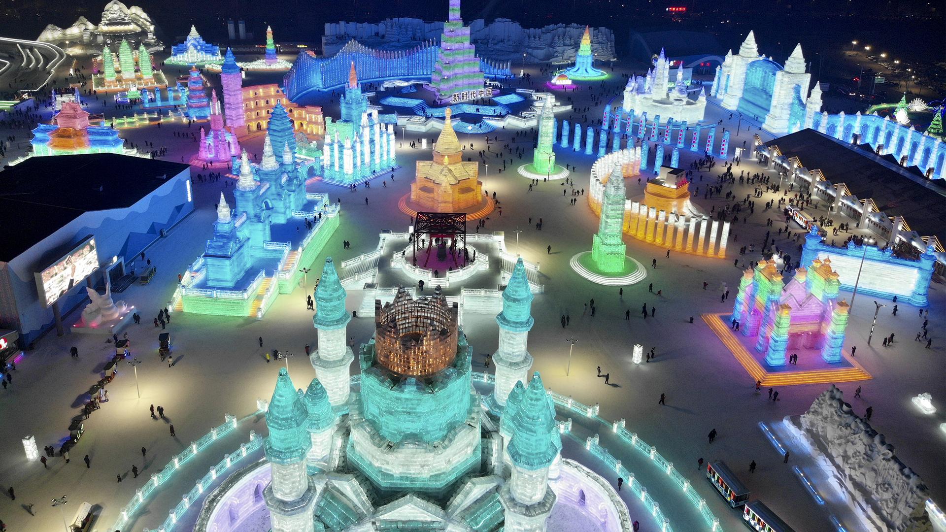 Ciudad de Harbin, China