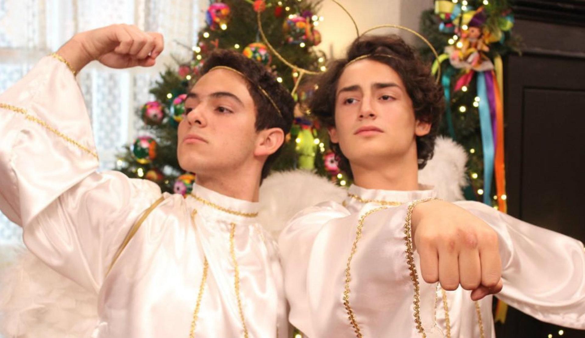 Joaquín Bondoni y Emilio Osorio interpretan a ArisTemo (Instagram/mimaridofamof)