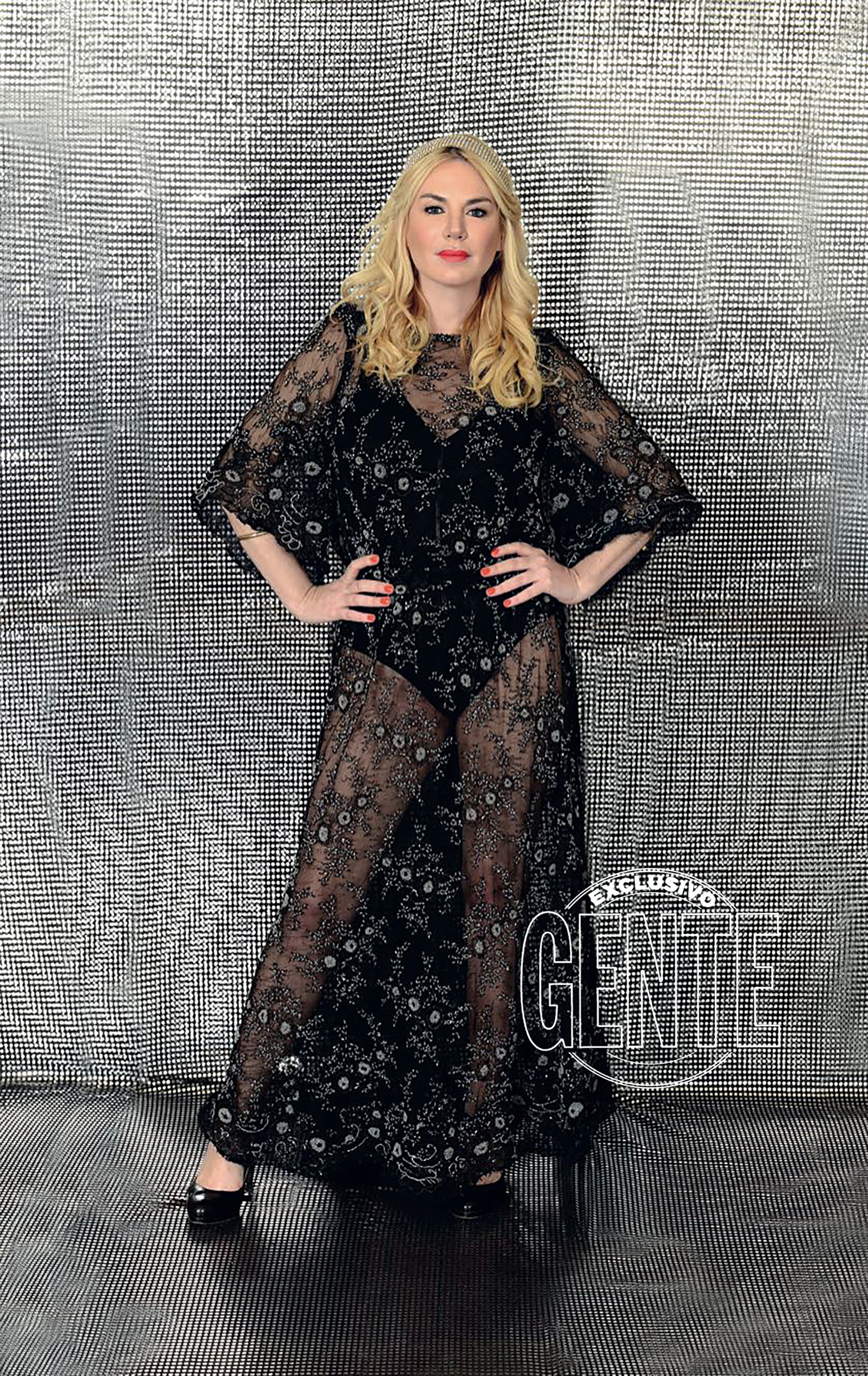 Esmeralda Mitre usó su vestido de novia (2014) de género Dior y diseño del recordado Manuel Lamarca.