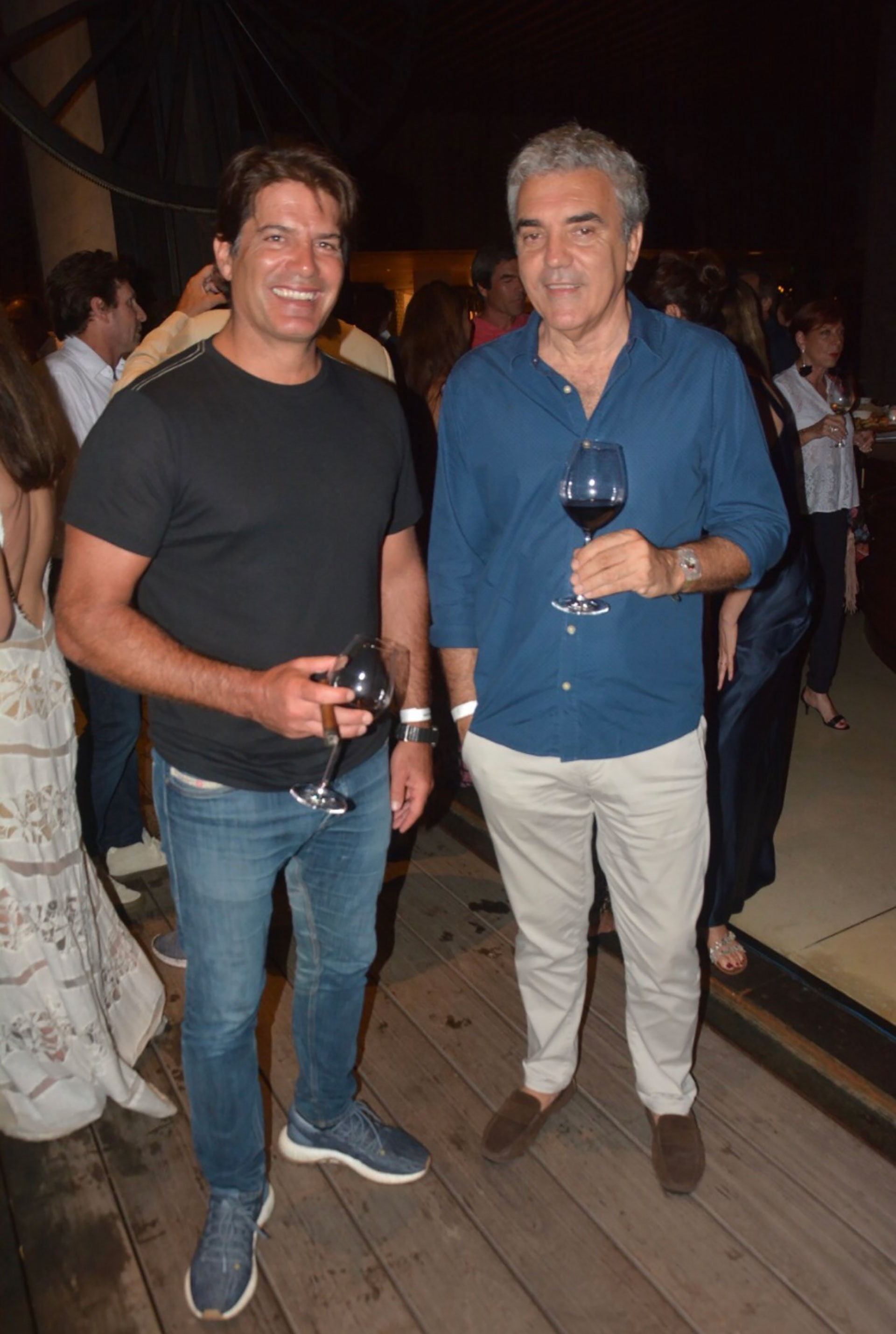 Antonio Lanusse y Guillermo González Taboada