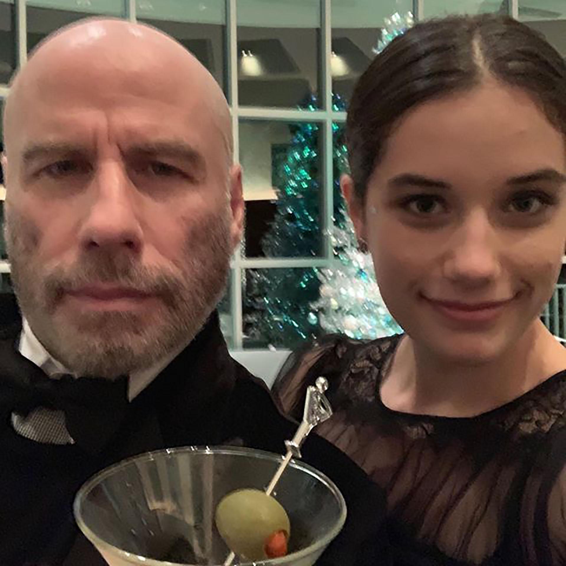La foto del actor junto a su hija mayor (@johntravolta)
