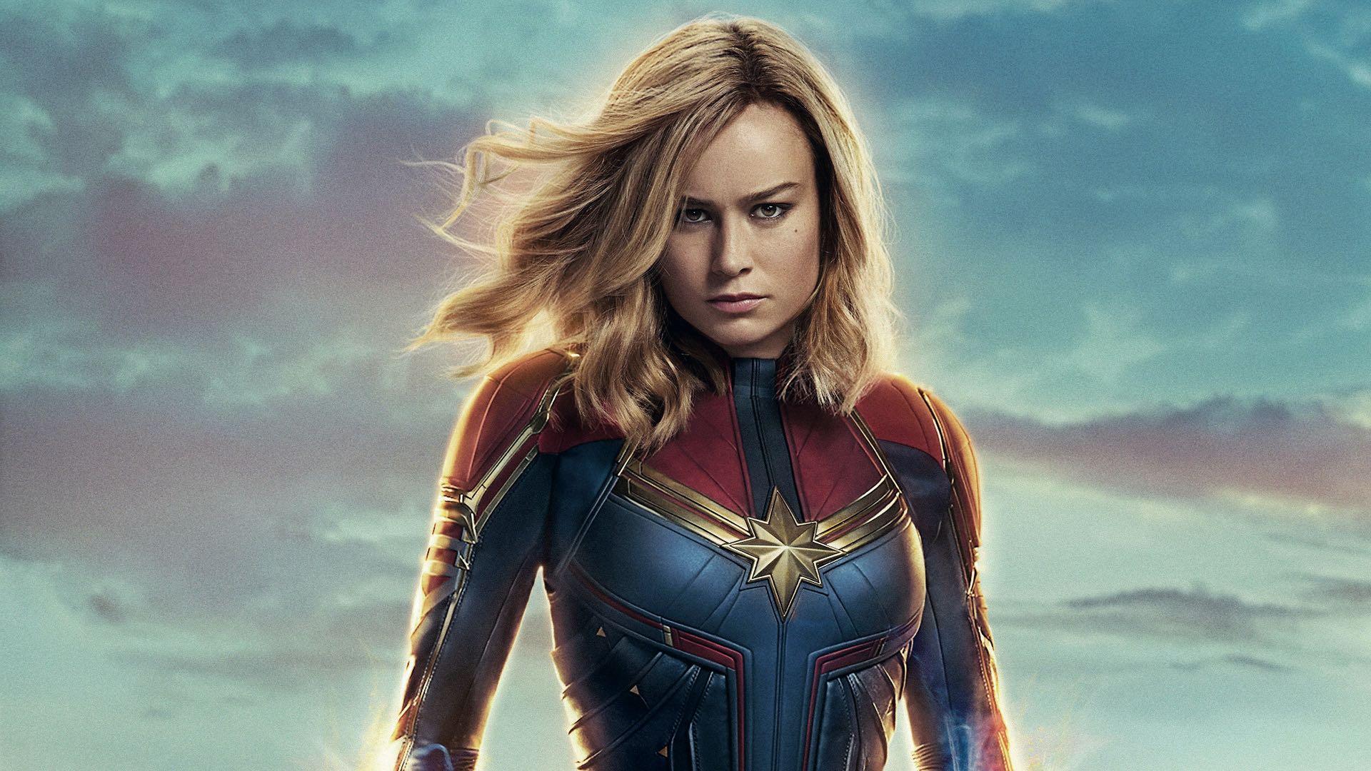 En la pantalla grande llega Captain Marvel,la primera de Marvel con una superheroína como protagonista.¡Vamos Brie Larson!