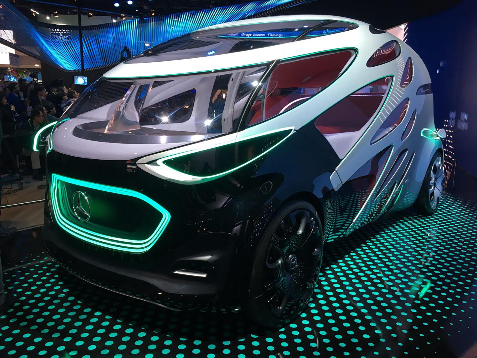 Vision Urbanetic de Mercedes Benz es un concepto de vehículo eléctrico, autónomo y modular.