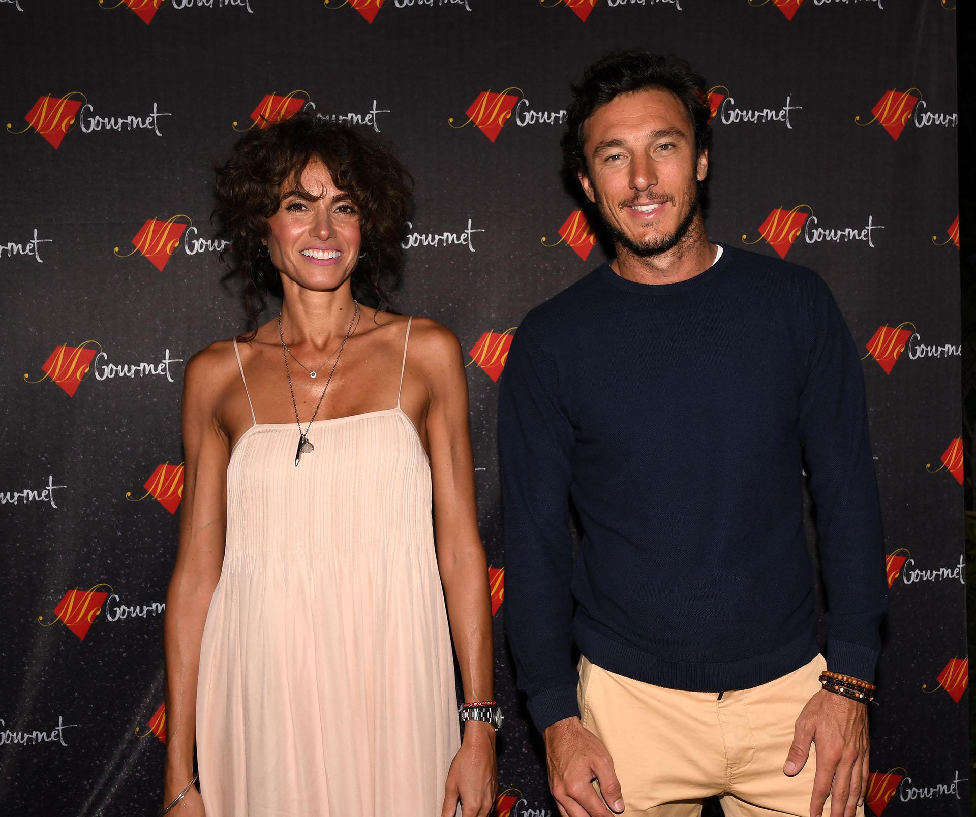 "Florencia Raggi y Juan ""Pico"" Mónaco"