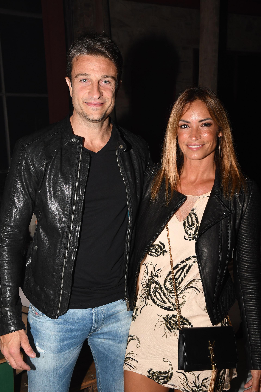 Claudia Fernández y su marido Lionel Delmenico