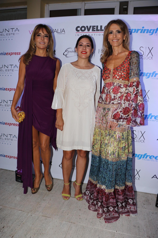 Patricia y Rossella Della Giovampaola junto a Carminne Dodero