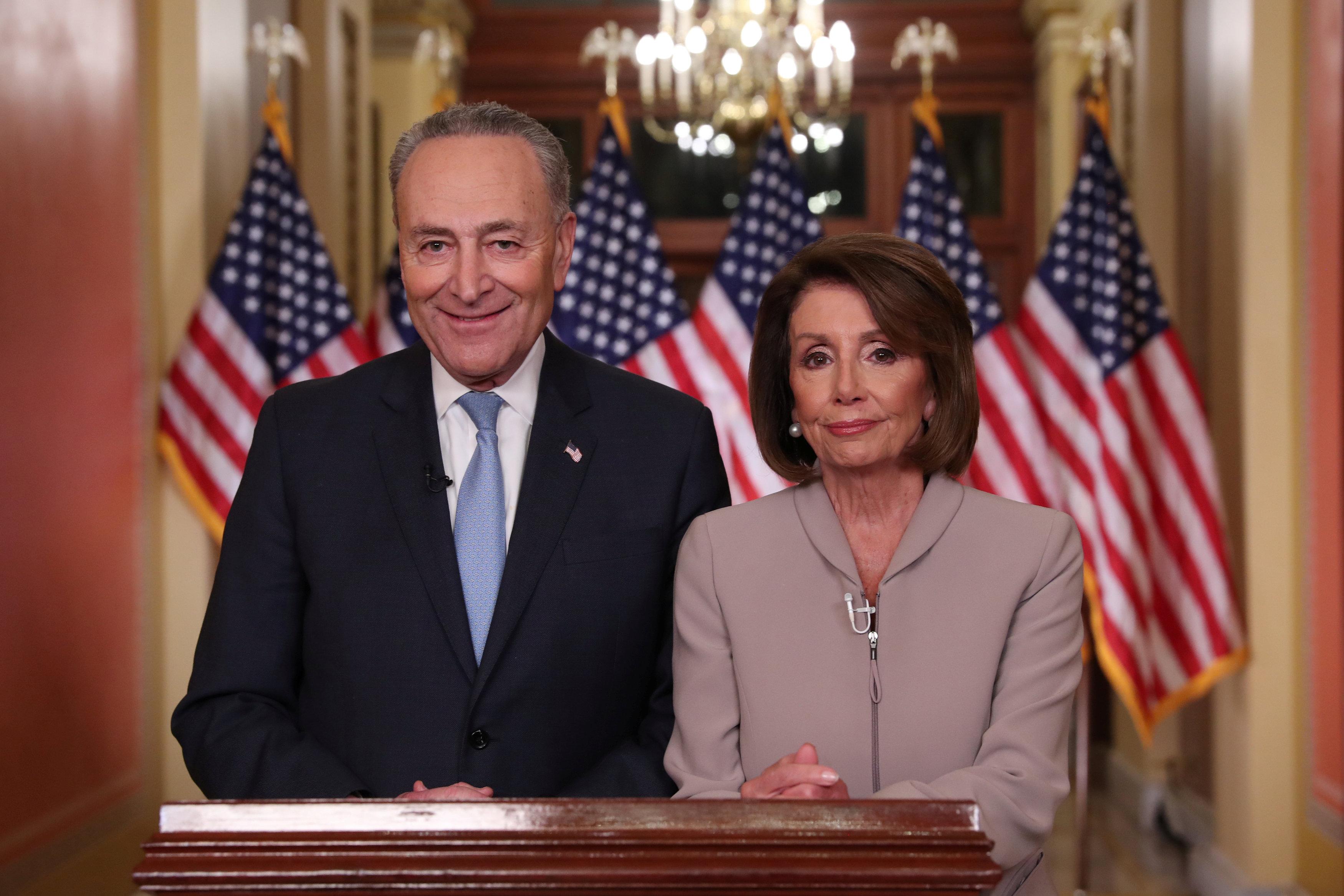 Nancy PelosiyChuck Schumer (Reuters/ Jonathan Ernst)