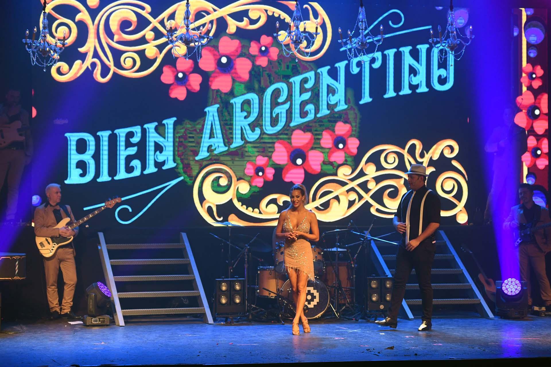 Noelia Marzol, una de las figuras de Bien Argentino