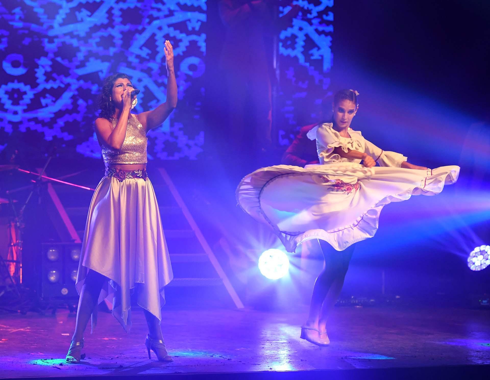 Además de bailar, Adabel Guerrero también canta