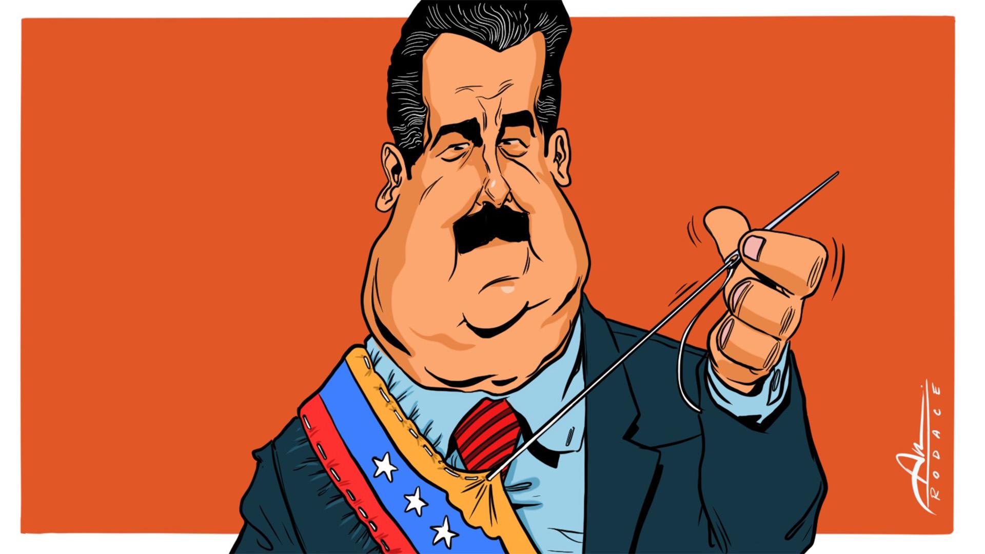 Nicolás Maduro (Ilustración: Rodrigo Acevedo Musto)