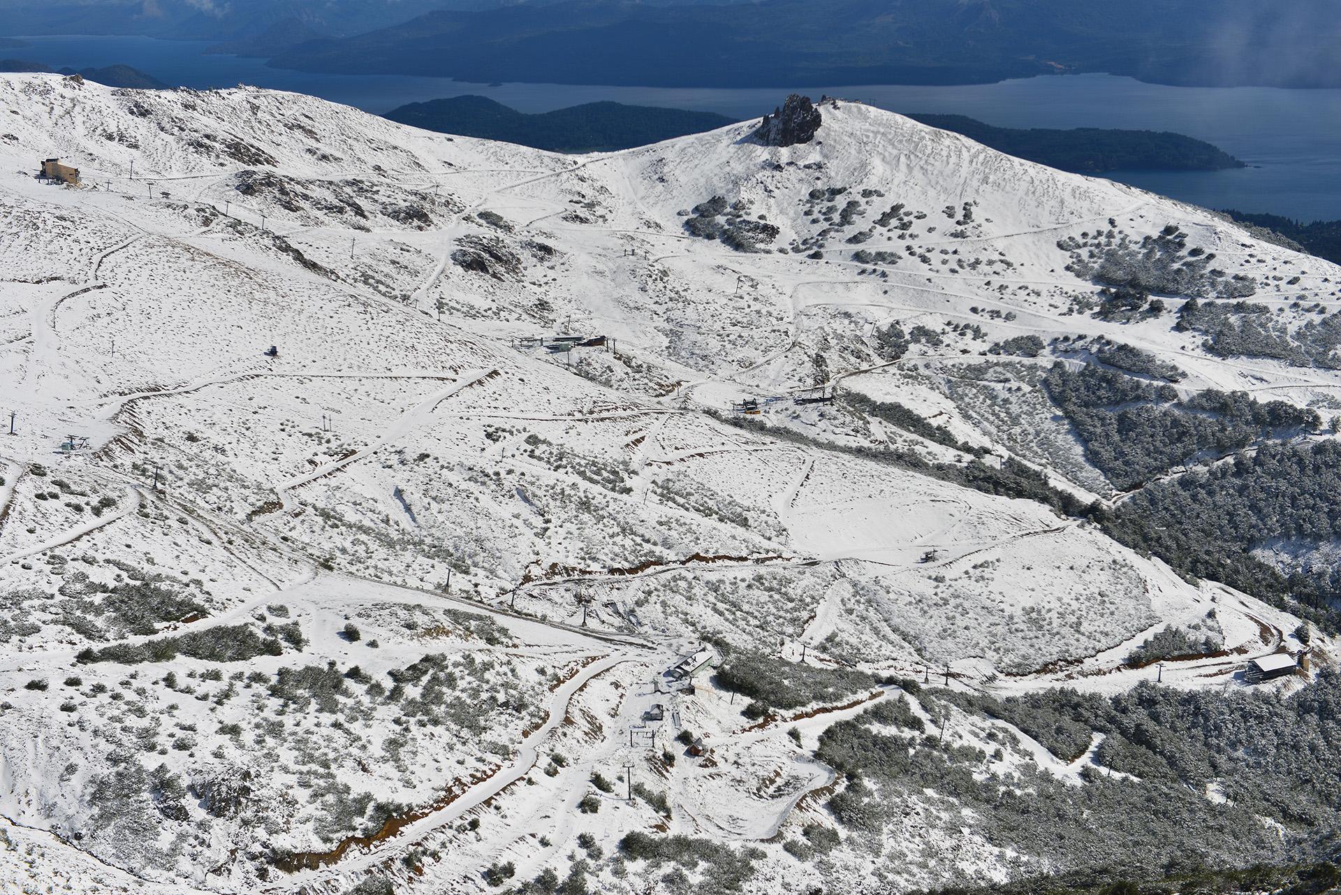 """Gastón Burlón, secretario de Turismo de Bariloche, dijo a Cadena 3 que el fenómeno """"ha pasado"""""""