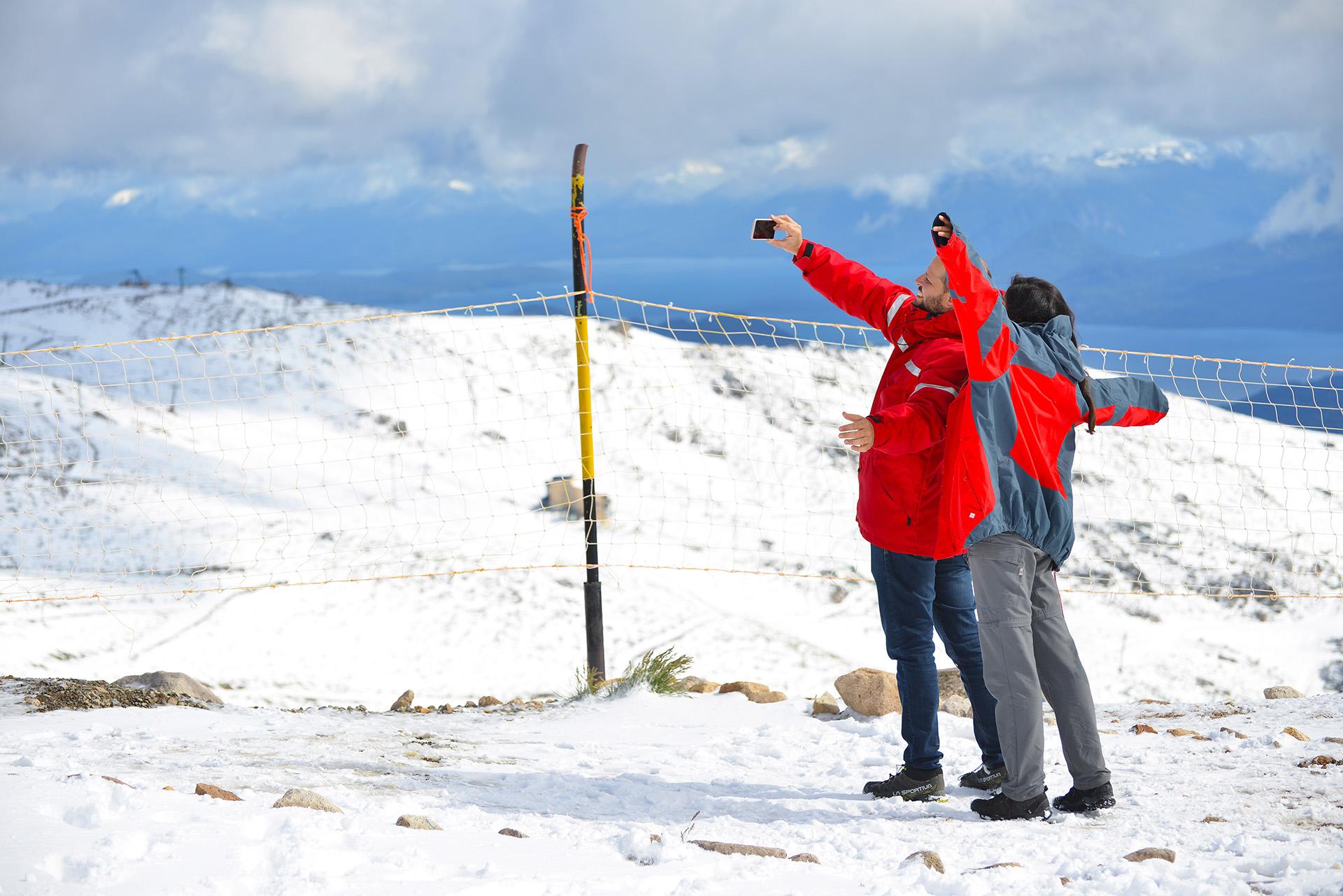 Desde 2008 no nevaba con tanta intensidad en la región en el mes de enero