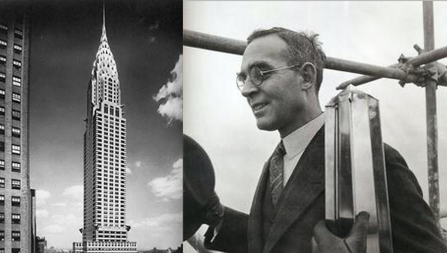 William van Alen fue un arquitecto norteamericano, conocido especialmente por el diseño del Edificio Chrysler de Nueva York (1929)