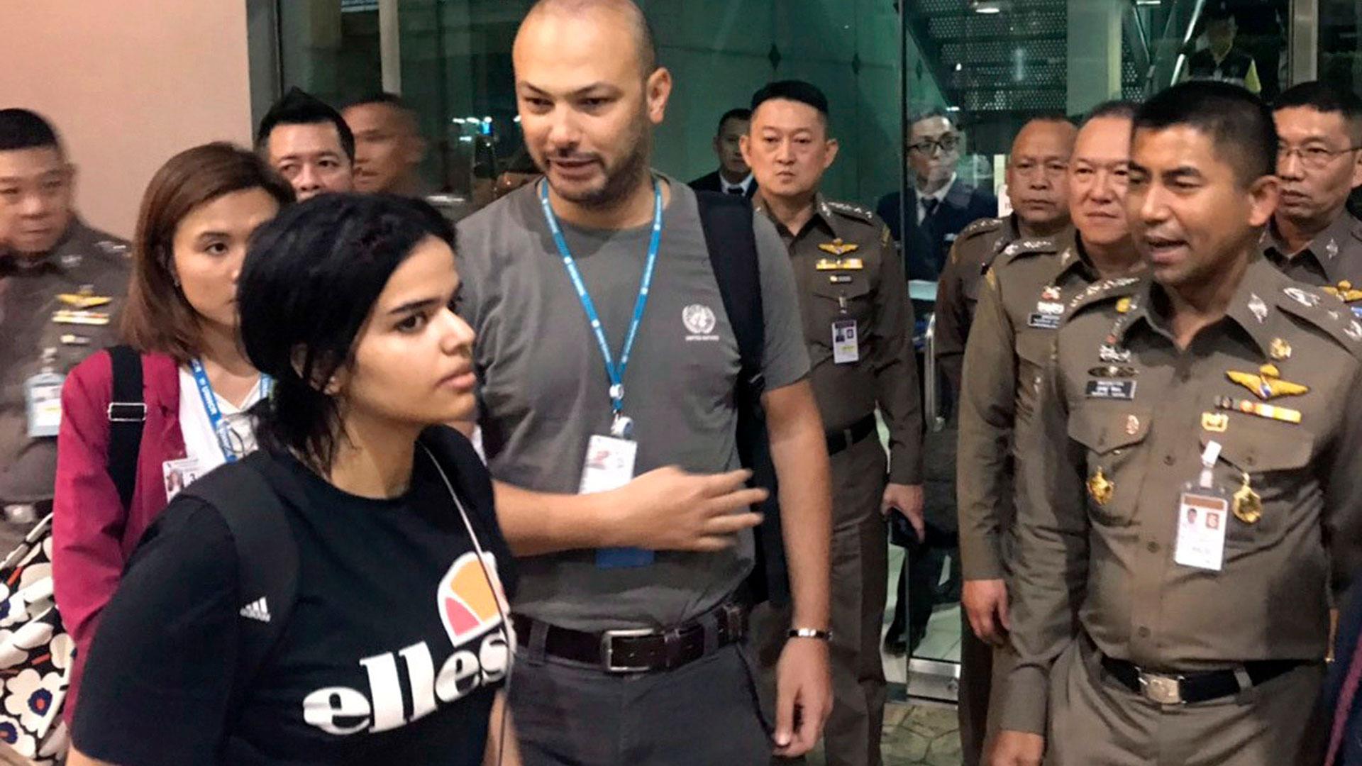 Rahaf Mohamed al Qunun (AP)
