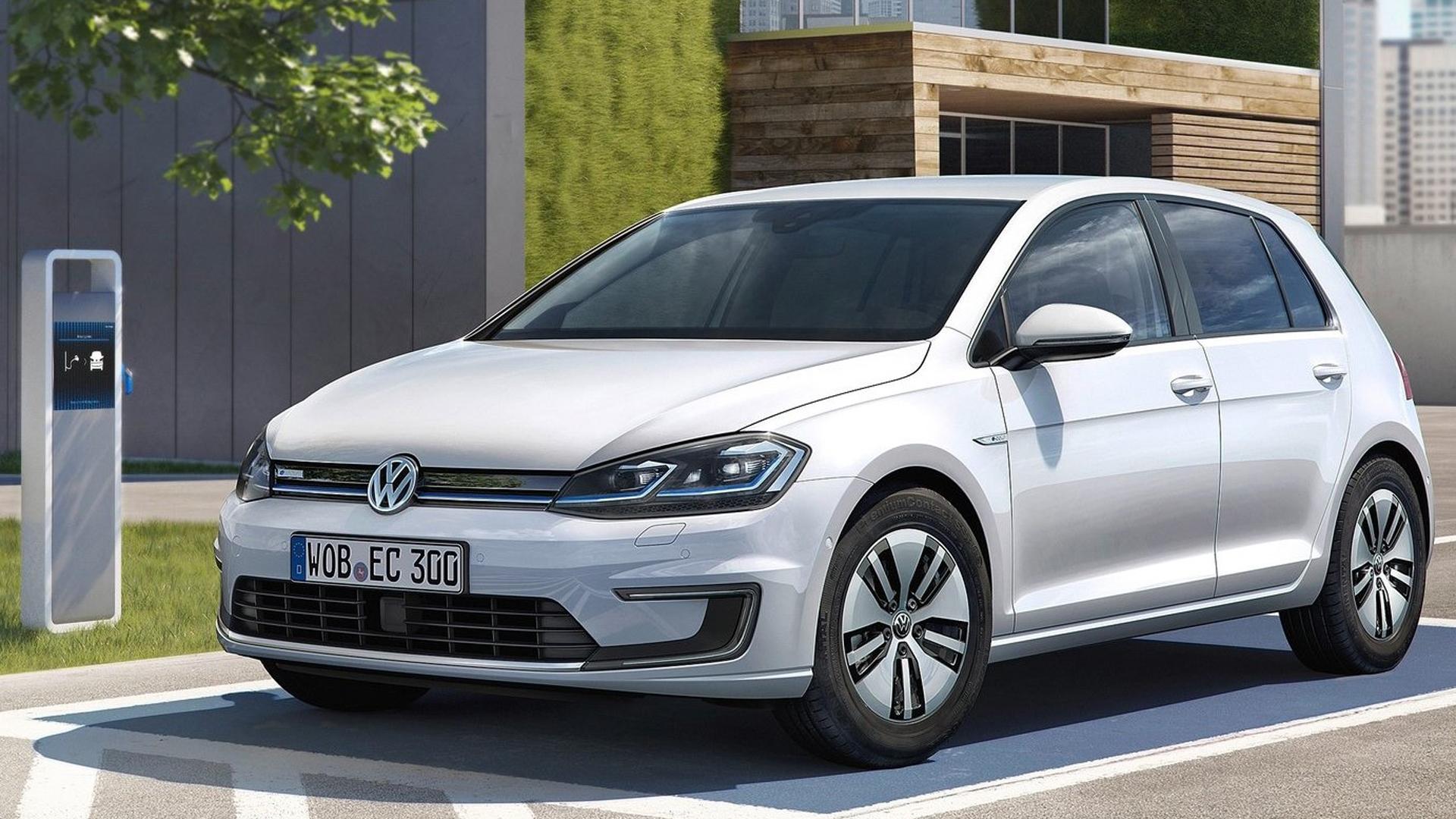 El Volkswagen eGolf es otro de los modelos que se venden y tiene buena aceptación entre el público.
