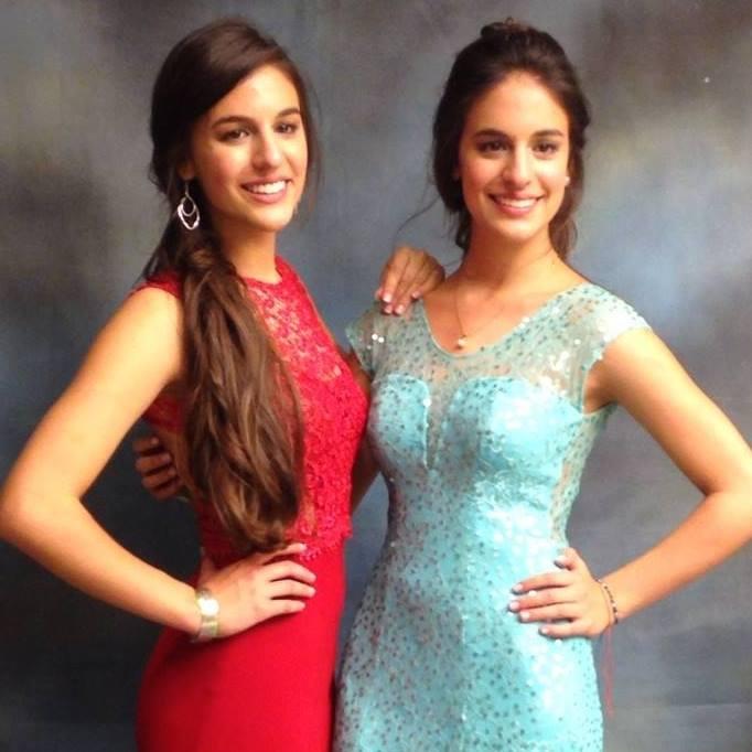 Mariana y Juliana Peña Delgado. Foto: Facebook Carlos Mario Peña Jaramillo