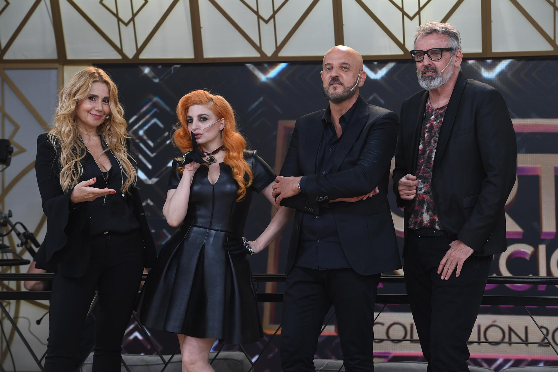 Andrea Politti con Verónica de la Canal, Benito Fernández y Fabián Zitta