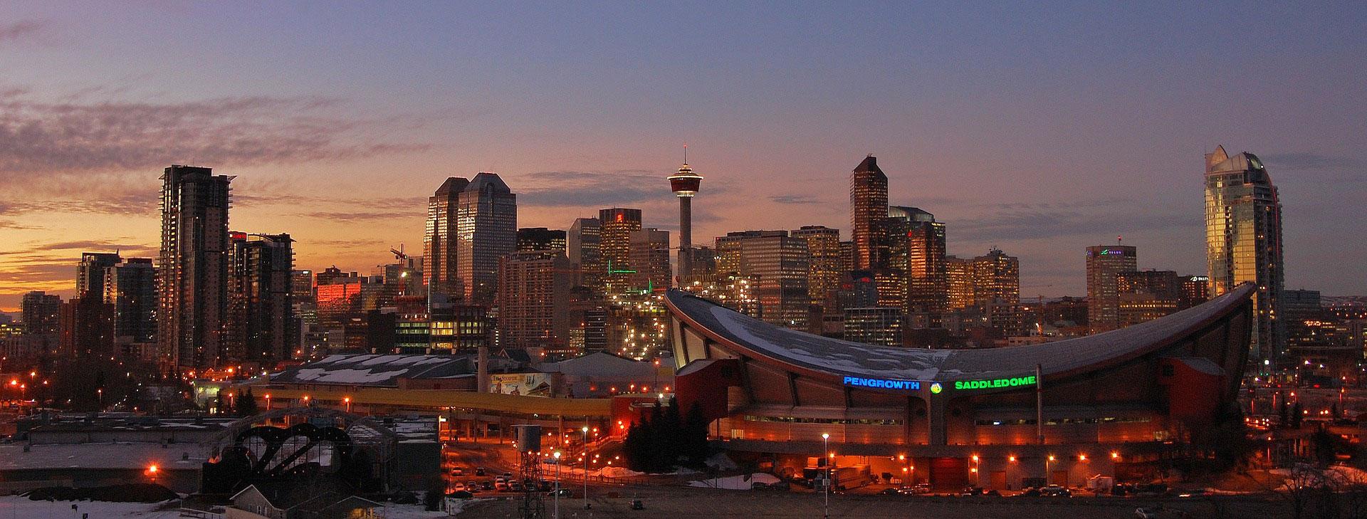 Se trata dela mayor ciudad de la provincia de Alberta en Canadá
