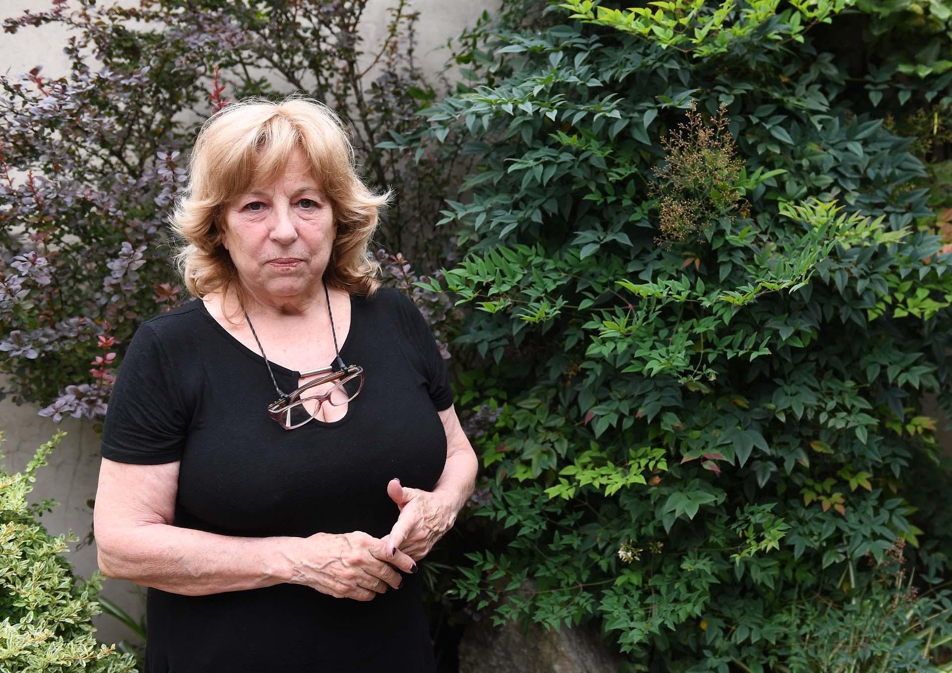 Norma López Rega, retratada por Infobae (Maximiliano Luna)