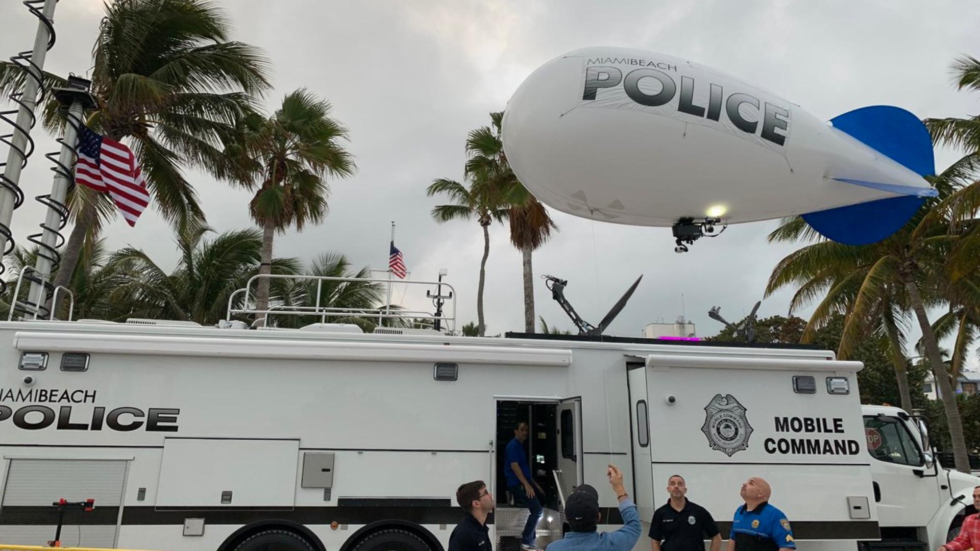 Estos son los dirigibles con los que los estadounidenses espían a los ciudadanos (Fotos: Twitter/@PaulAcostaMBPD)