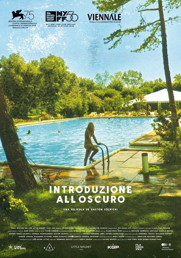 INTRODUZIONE ALL'OSCURO Poster-con logo viennale