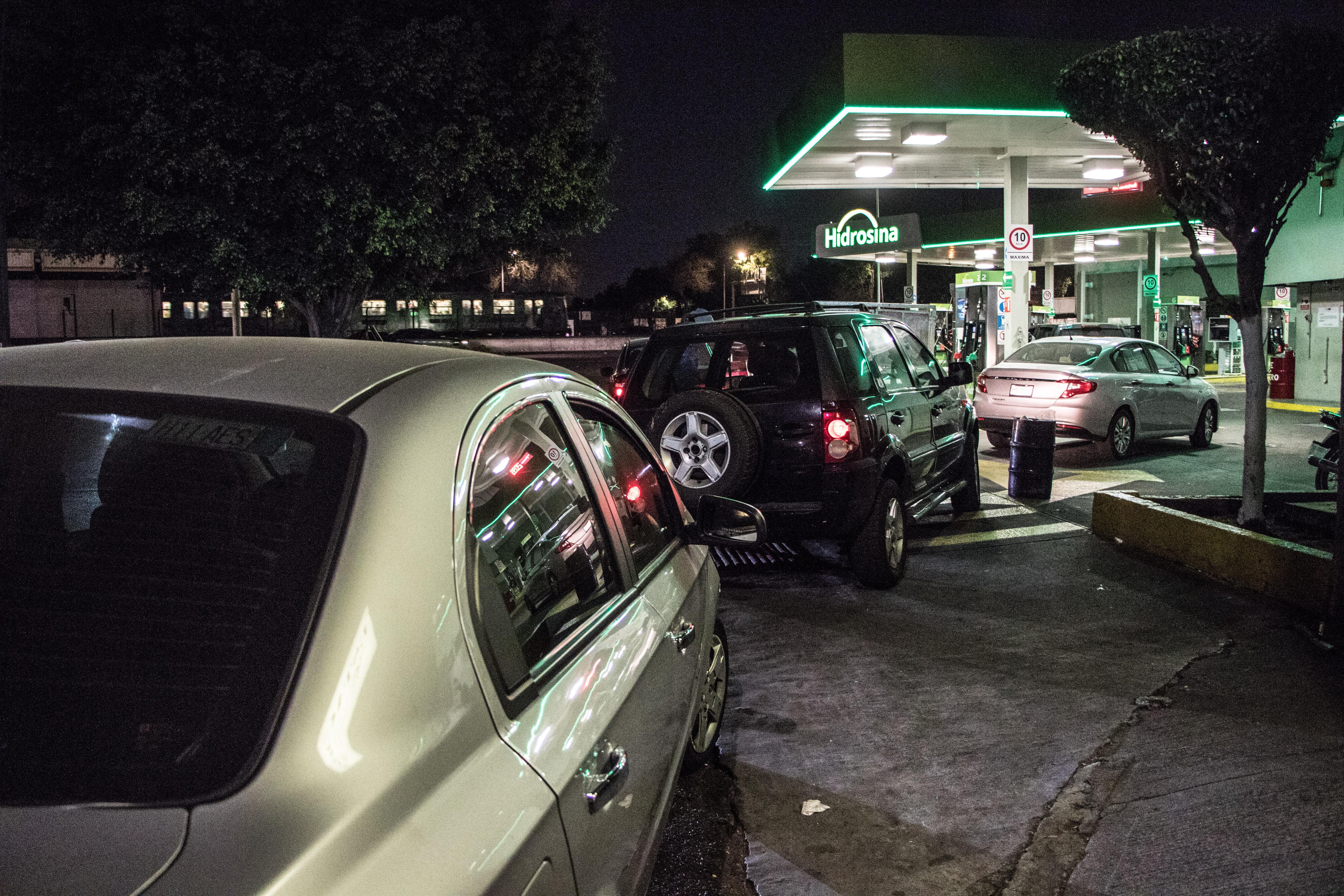 Desabasto de gasolina en la Ciudad de México