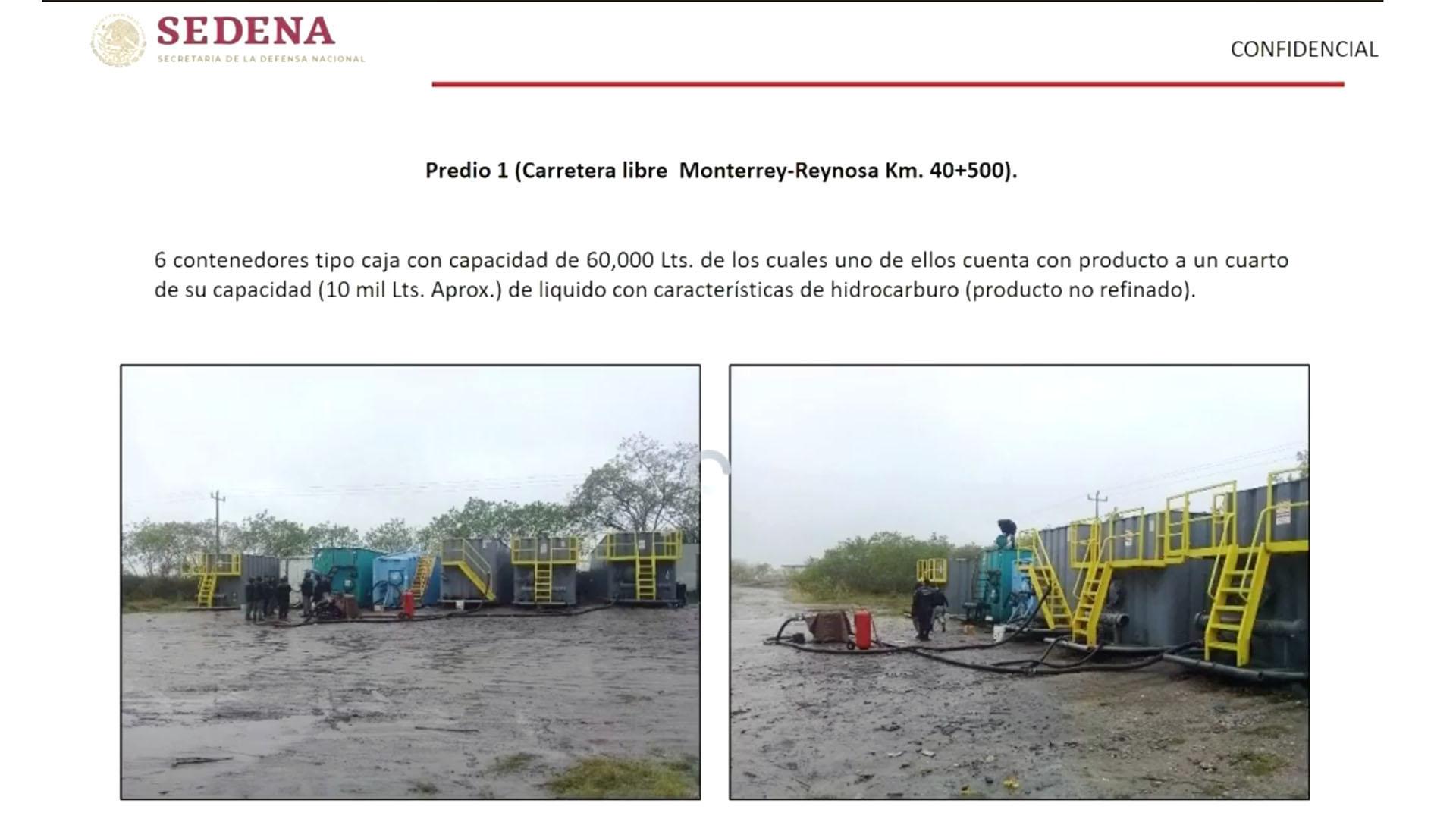 Este jueves López Obrador exhibió las imágenes de estaciones ilegales construidas en las rutas de los ductos. (Foto: Especial)