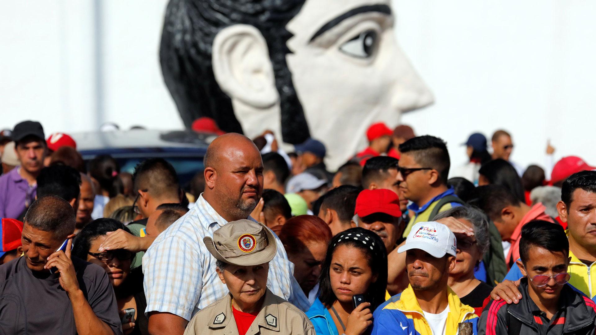Seguidores chavistas (Reuters)