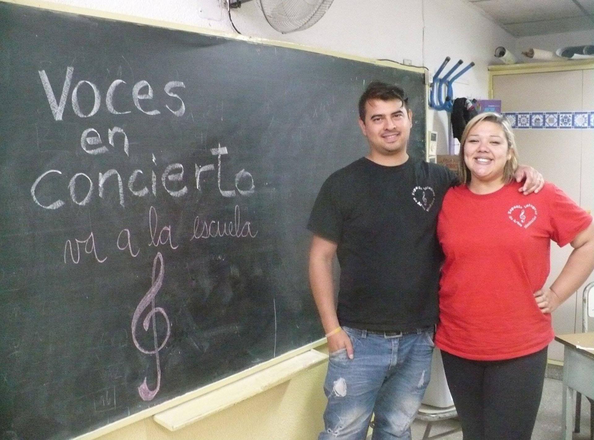 """Juntos, Diana e Iván hacen """"Voces en Concierto"""""""