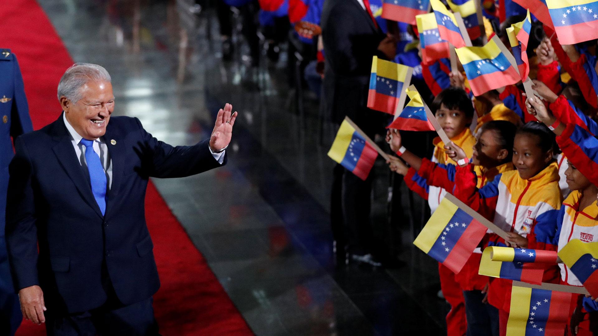 Salvador Sánchez Cerén, presidente de El Salvador (Reuters)