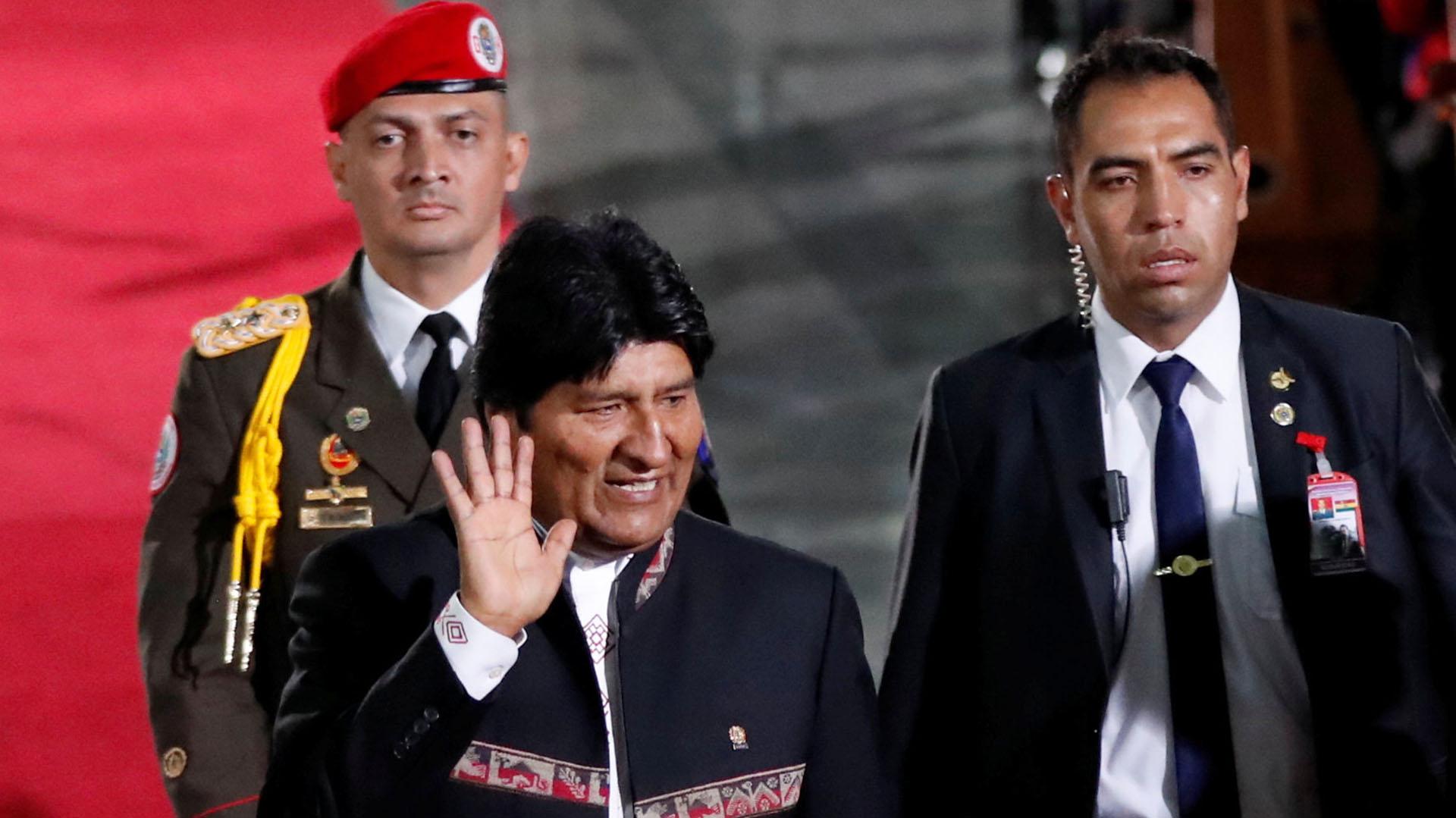 Evo Morales, presidente de Bolivia (Reuters)