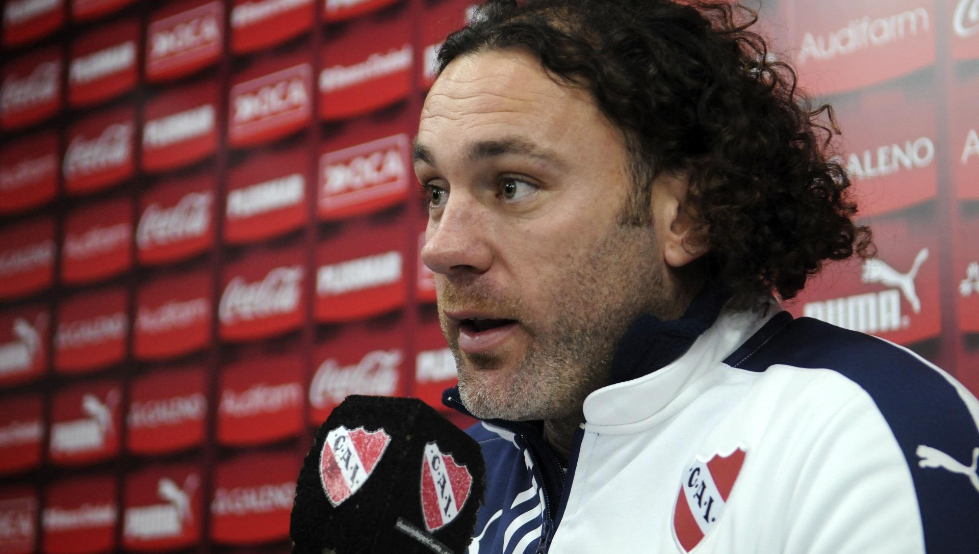 """""""Esta es la manera en que históricamente Independiente ha jugado y ha conseguido logros"""", afirmó (FotoBaires)"""