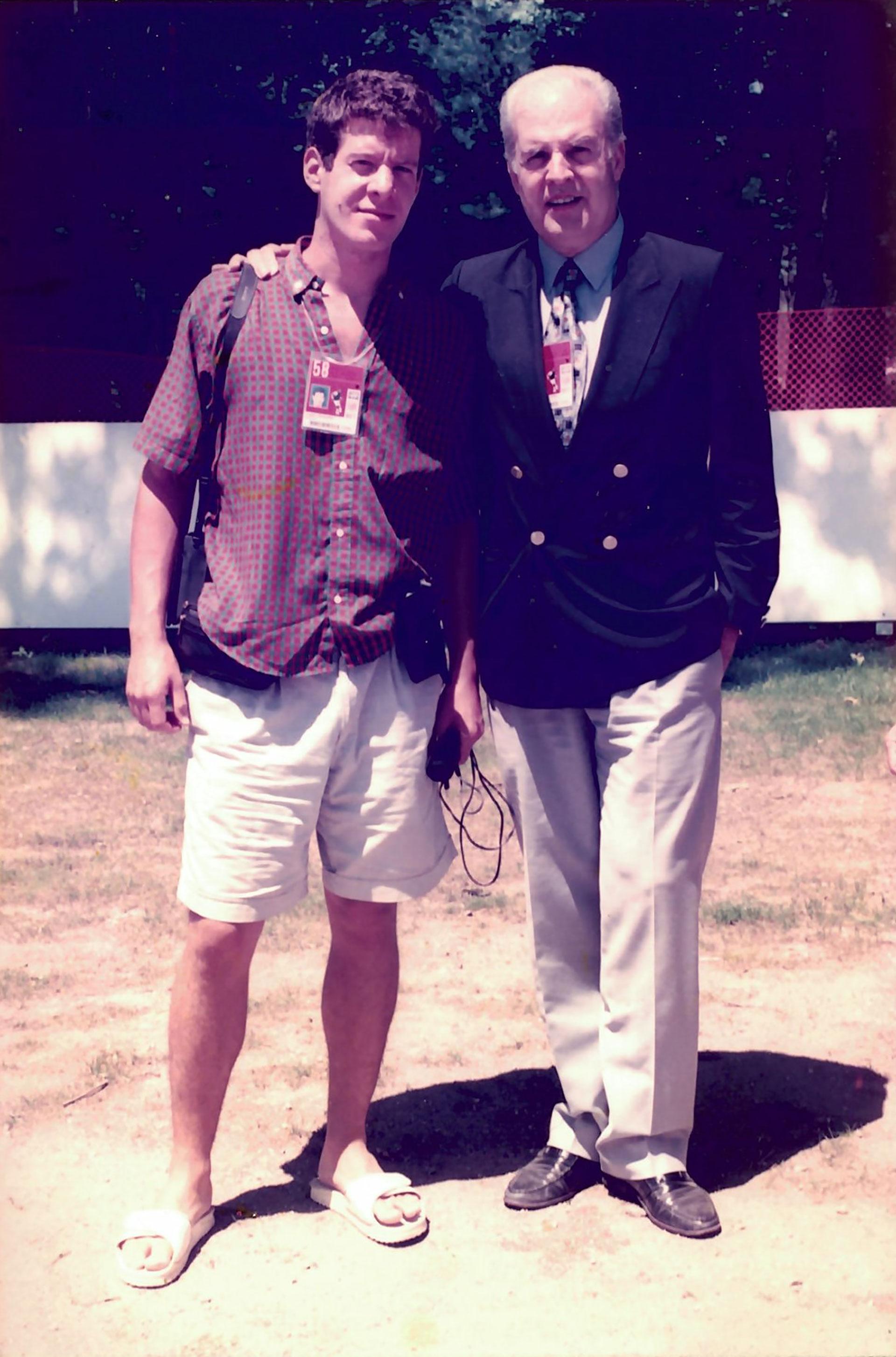 Julio Ricardo y su hijo Exequiel