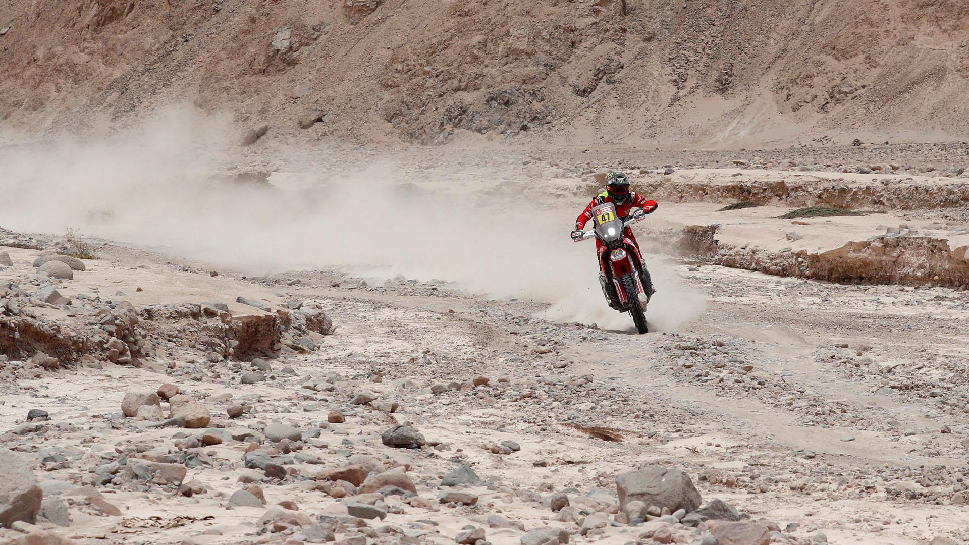 El estadounidense Ricky Brabec ganó la cuarta etapa de motos en el Dakar 2019 (REUTERS)