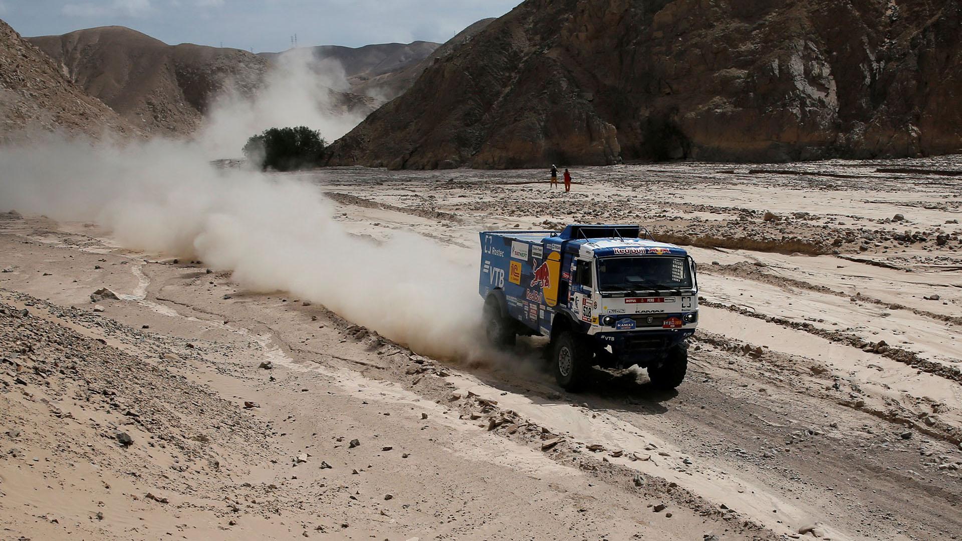 Derrotado por la mínima ayer, Ricky Brabec ha reaccionado como el campeón que es en la ruta hacia Moquegua (REUTERS)