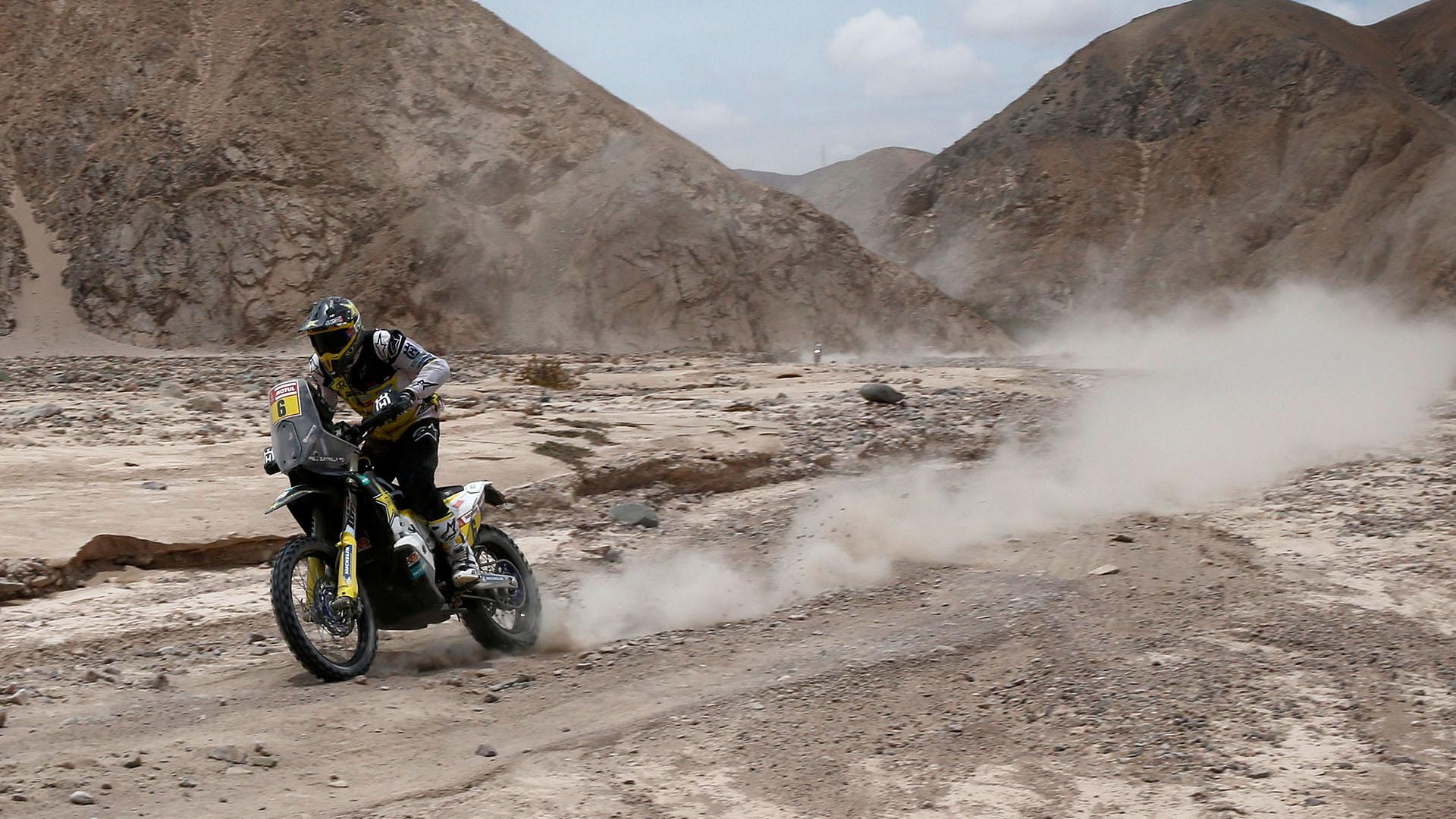 La jornada unió el trazado entre las localidades peruanas de Arequipa y Moquegua (REUTERS)