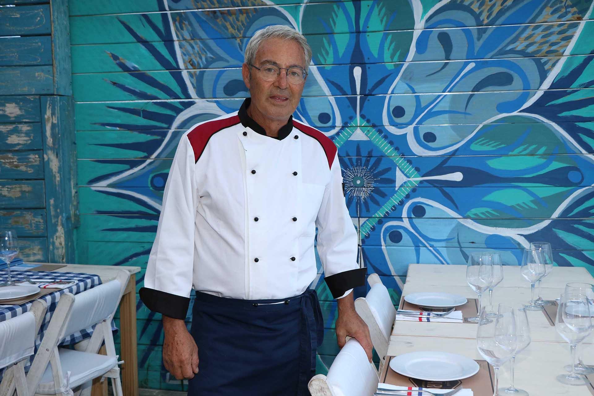 El chef Alessandro Tridenti (Foto: Matías Souto)