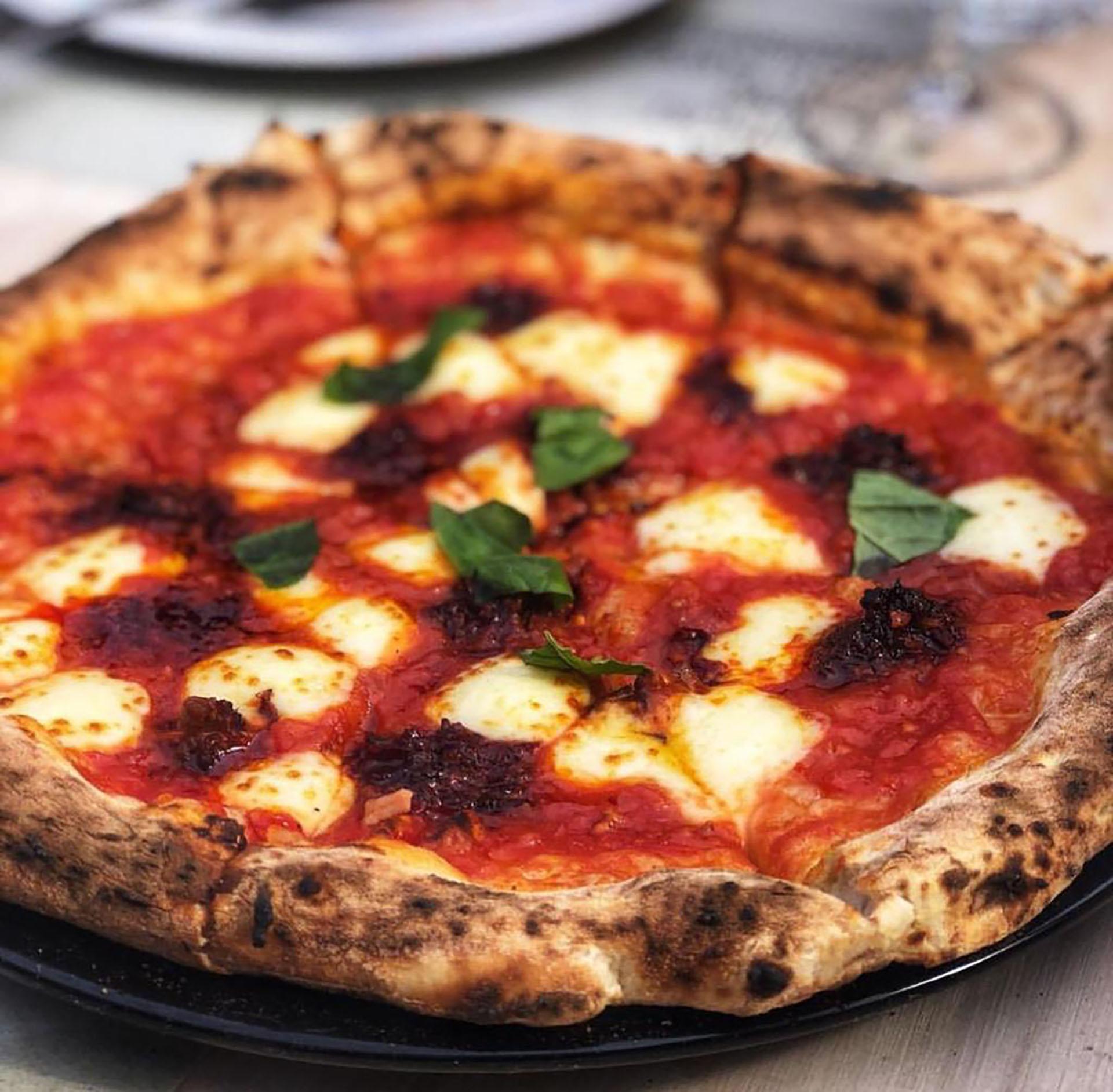 La pizza es otro punto clave de la carta