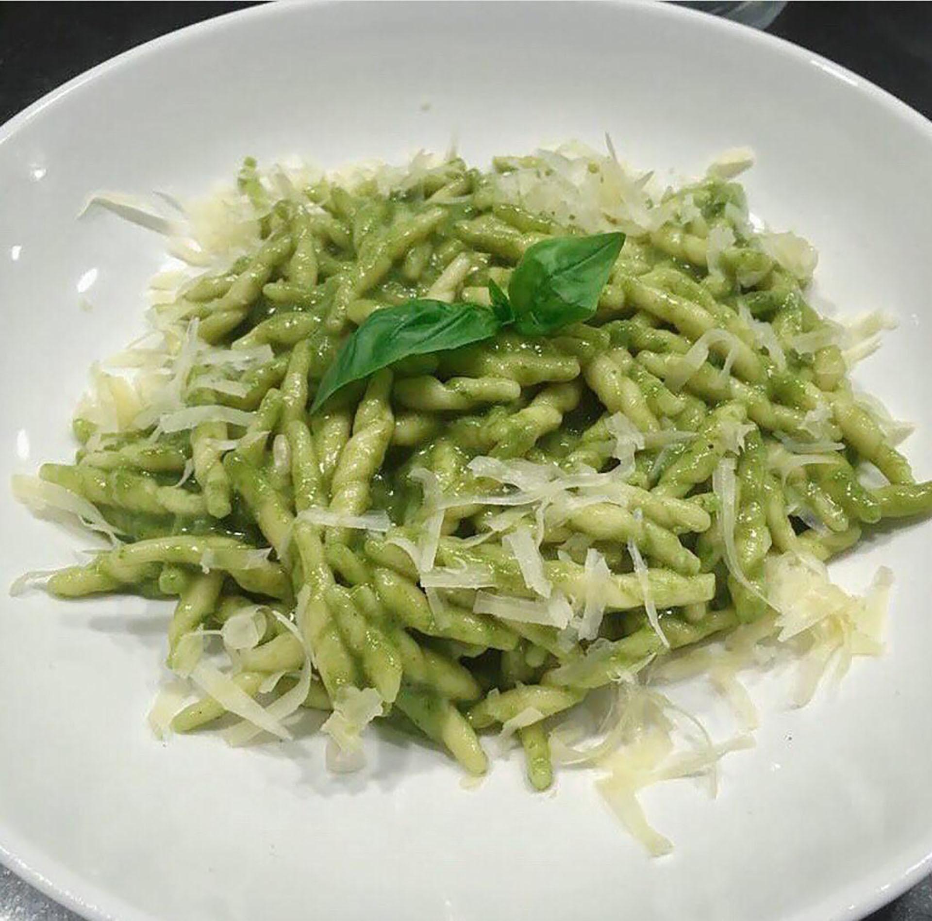 Un plato simple de la antigua cocina italiana, que se convirtió en un éxito esteño