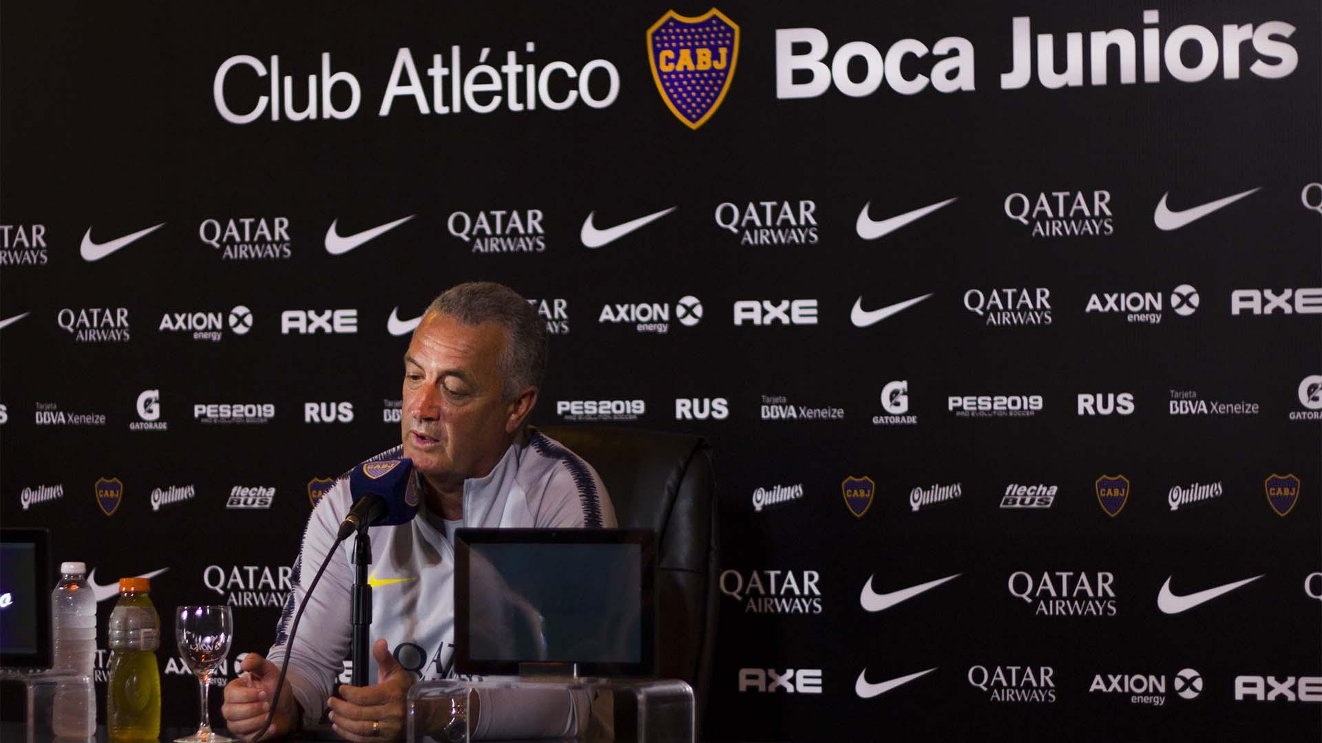 Alfaro termina de definir el plantel para 2019 junto a la dirigencia (Alejandro Leiton)