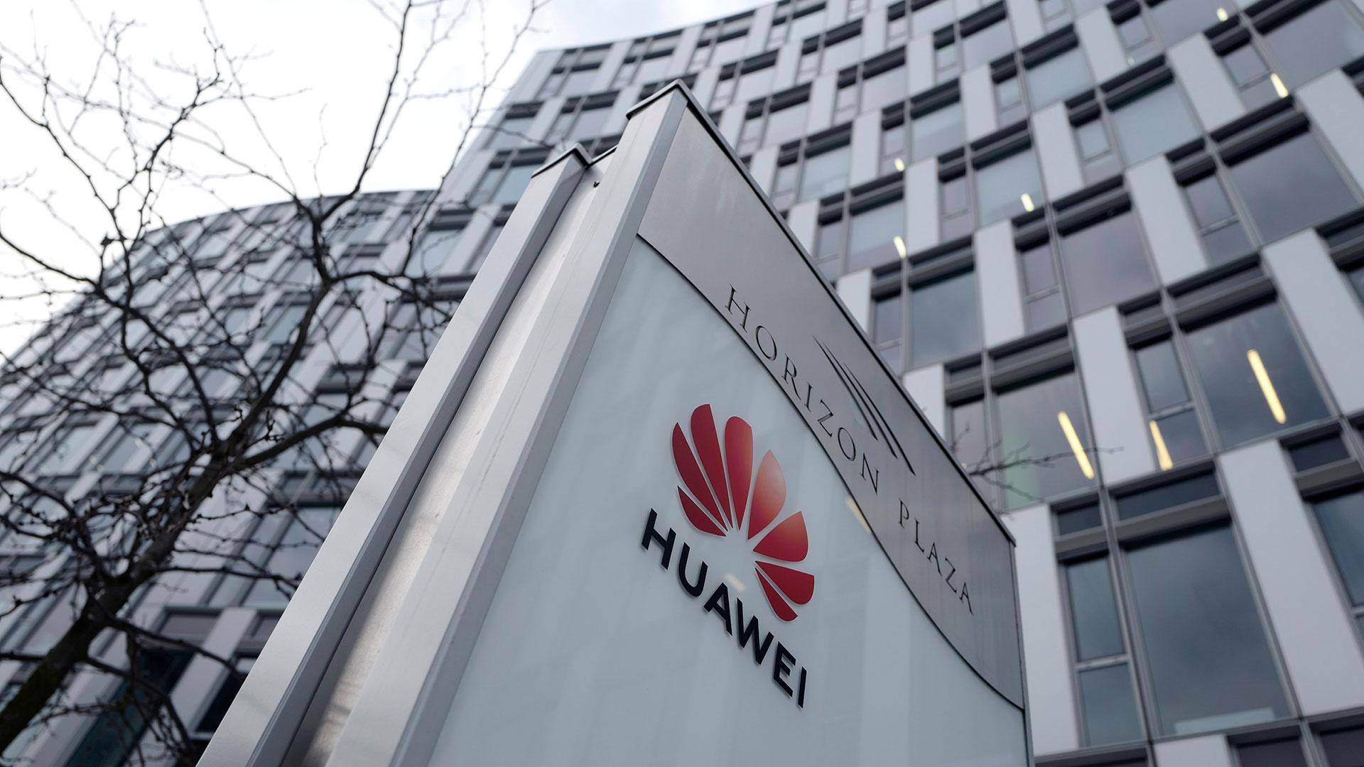 Las oficinas de Huawei en Varsovia (Reuters)
