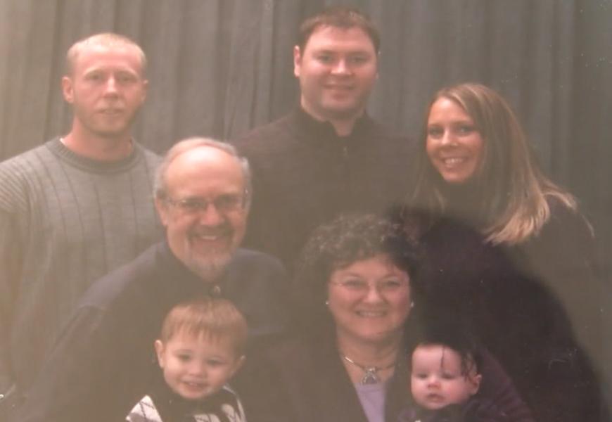 La familia Odle (Foto: Especial)