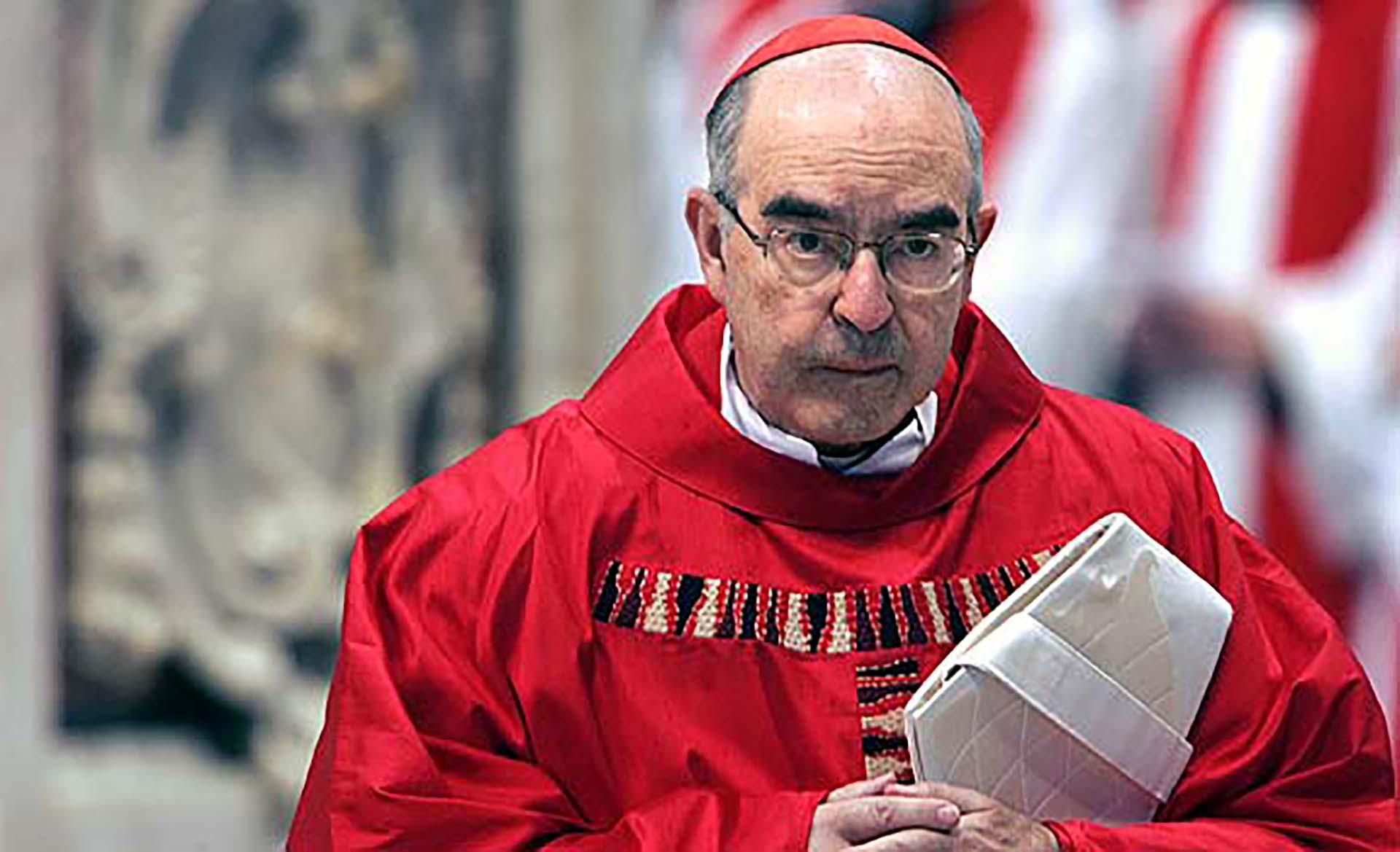El cardenal Alfonso López Trujillo fue presidente del Pontificio Consejo para la Familia del Vaticano hasta su muerte en Roma en 2008. (Foto AFP)