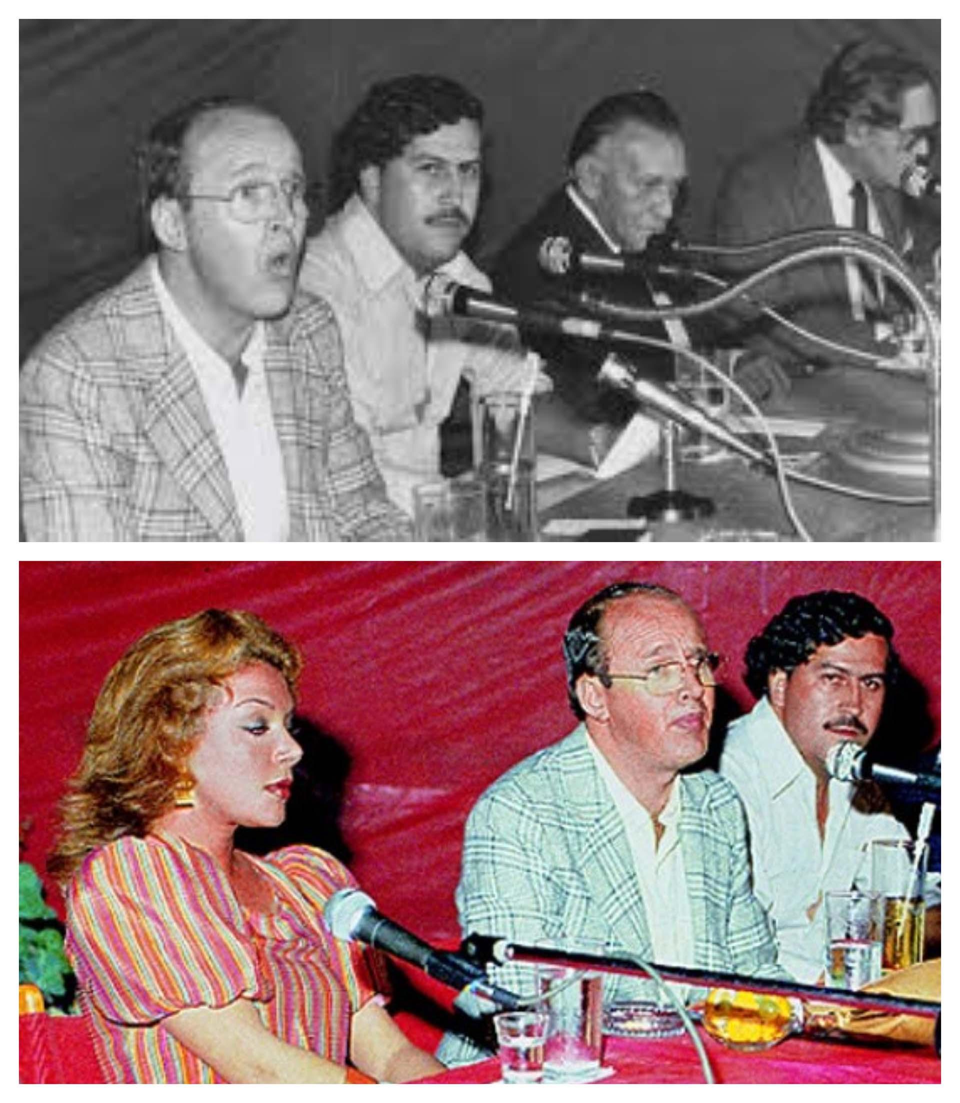 """El cura Elías Lopera moderaba los encuentros """"académicos"""" promovidos por el capo Pablo Escobar en contra de la extradición."""