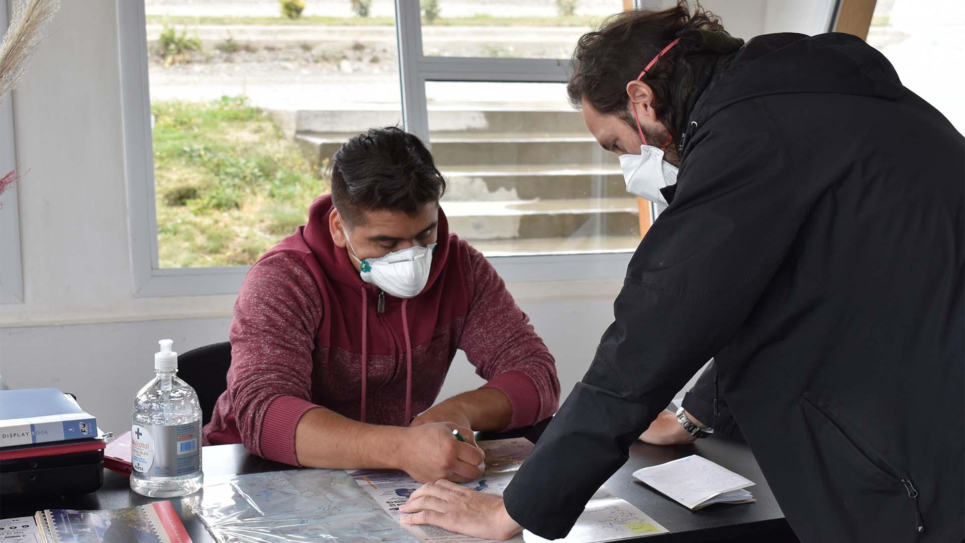 Postal de Epuyén, dondehubo 9 víctimas fatales además de otros 26 casos (Franco Fernández)