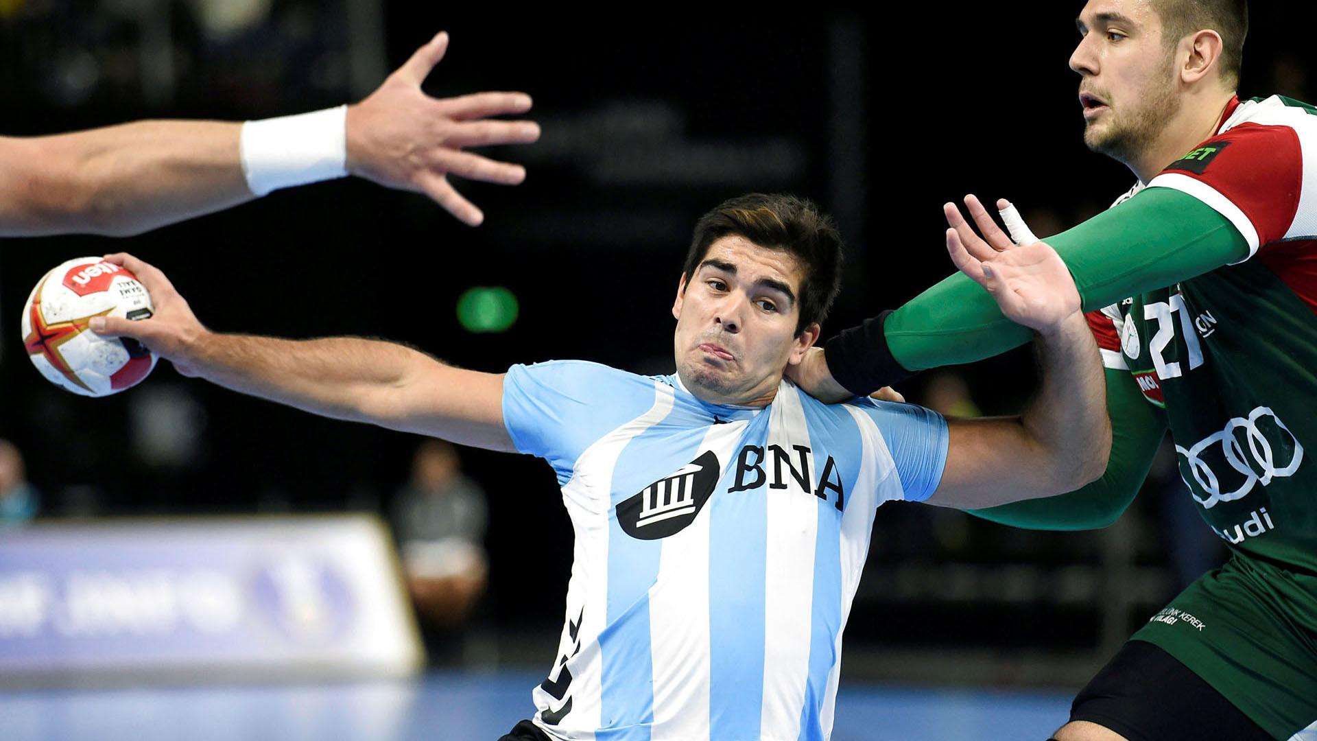 Argentina juega ante Suecia por la segunda fecha del Mundial de Handball (REUTERS)