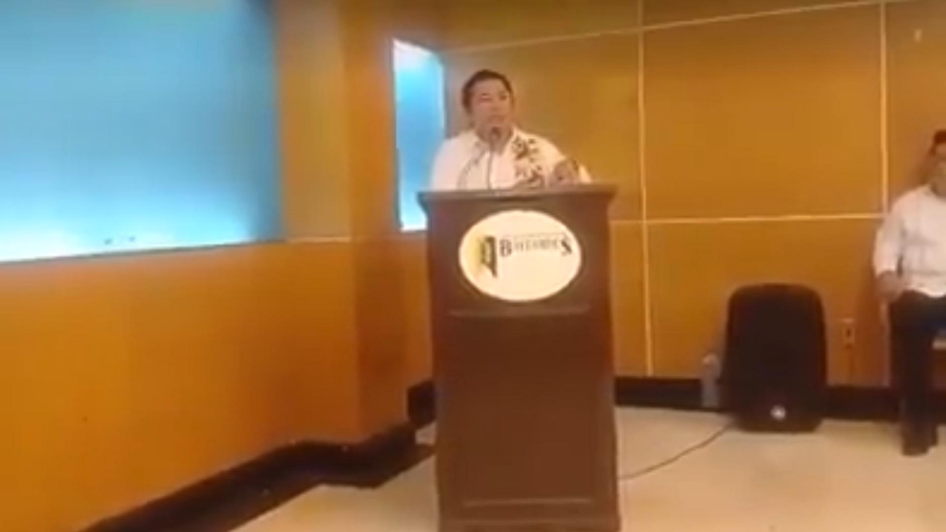 El ex dirigente de Morena fue criticado por su comentario (Foto: captura de pantalla)