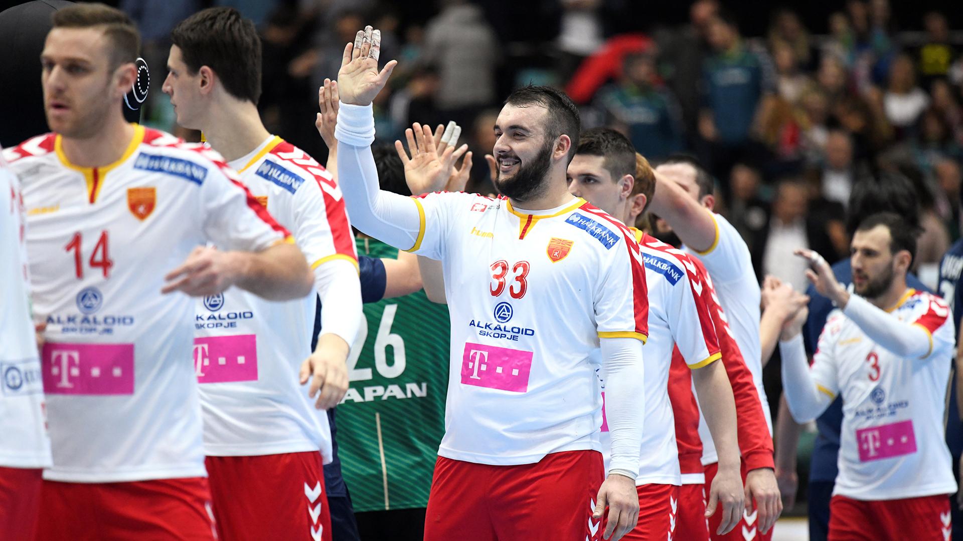 En el Grupo B, Macedonia debutó con un triunfo ante Japón (REUTERS)