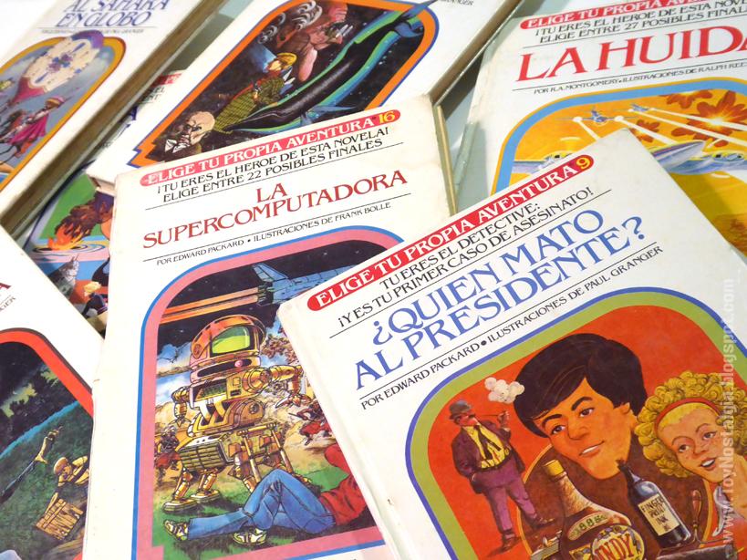 """""""Elige tu propia aventura"""" en los que el lector toma decisiones sobre la forma de actuar que tienen los personajes y modifica así el transcurrir de la historia. (Foto: toynostalgia)"""